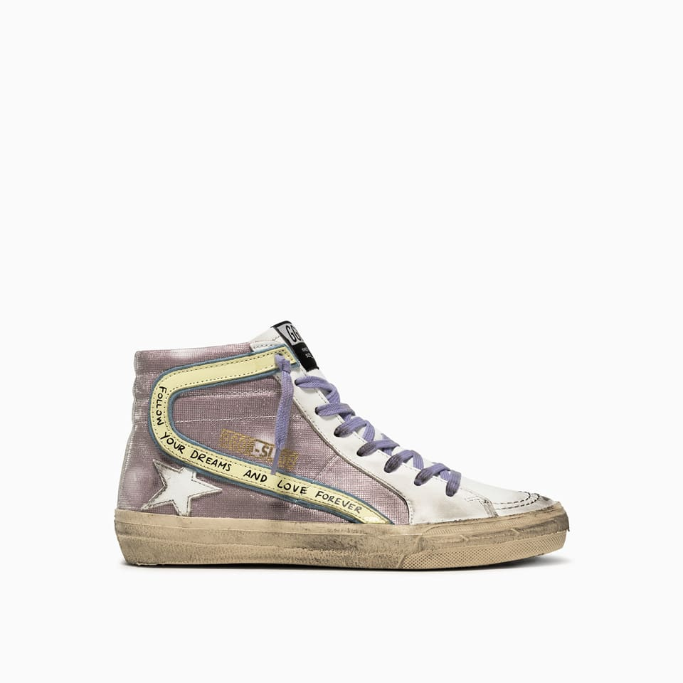 Golden Goose Slide Checkered Sneakers Gwf00115. f001879