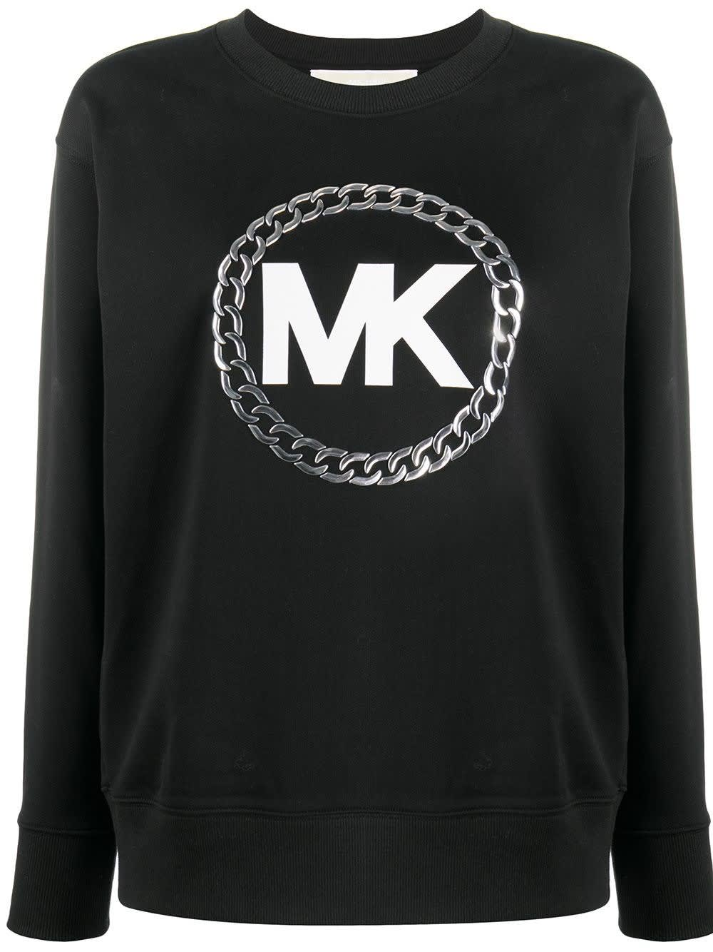 Michael Michael Kors COTTON SWEATSHIRT WITH LOGO PRINT