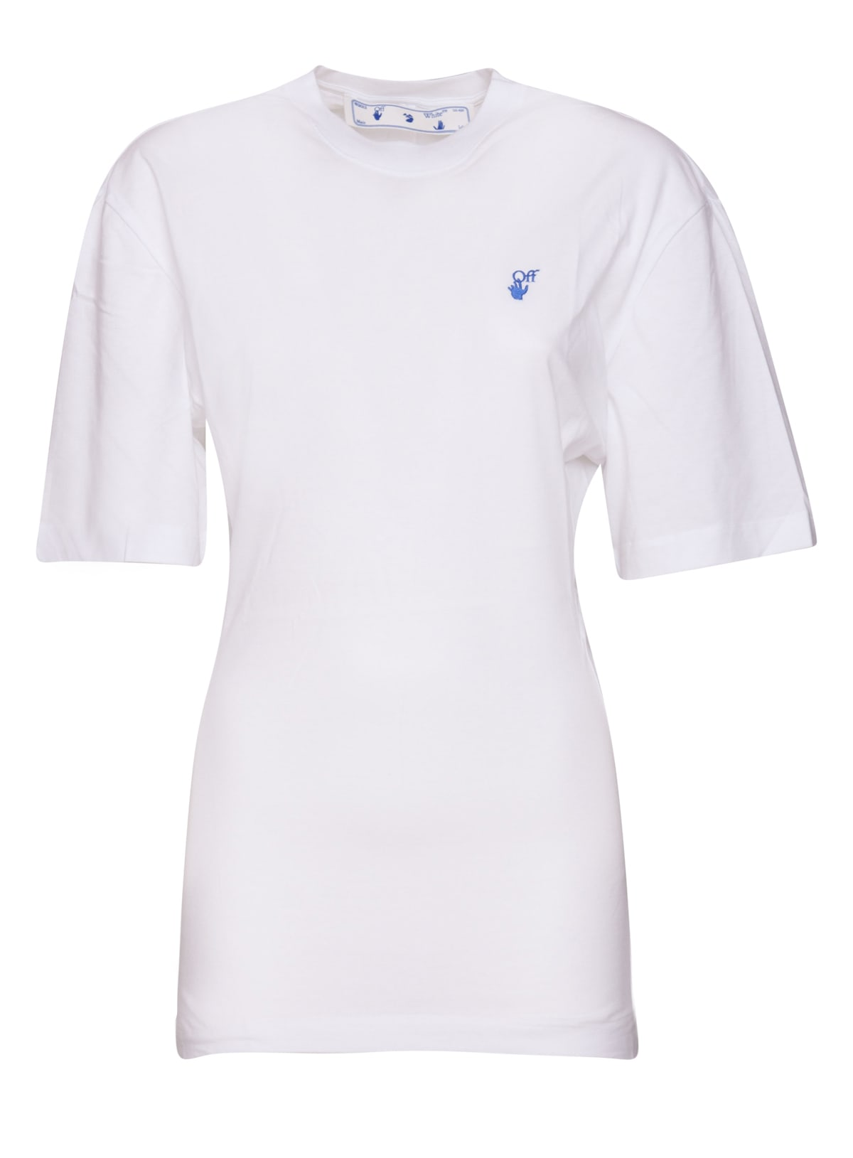 Buy Off White Micro Logo Dress/t-shirt online, shop Off-White with free shipping