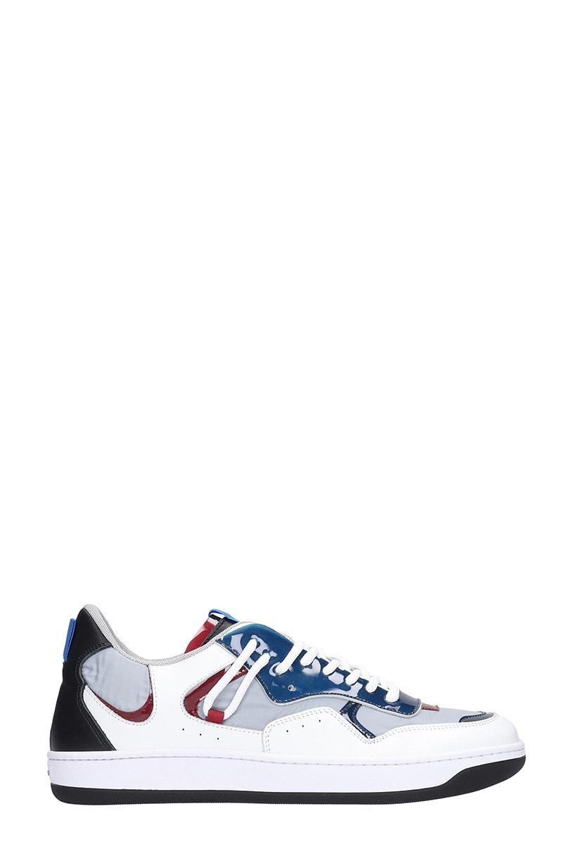 Ylati Footwear Sneakers In Grey Leather