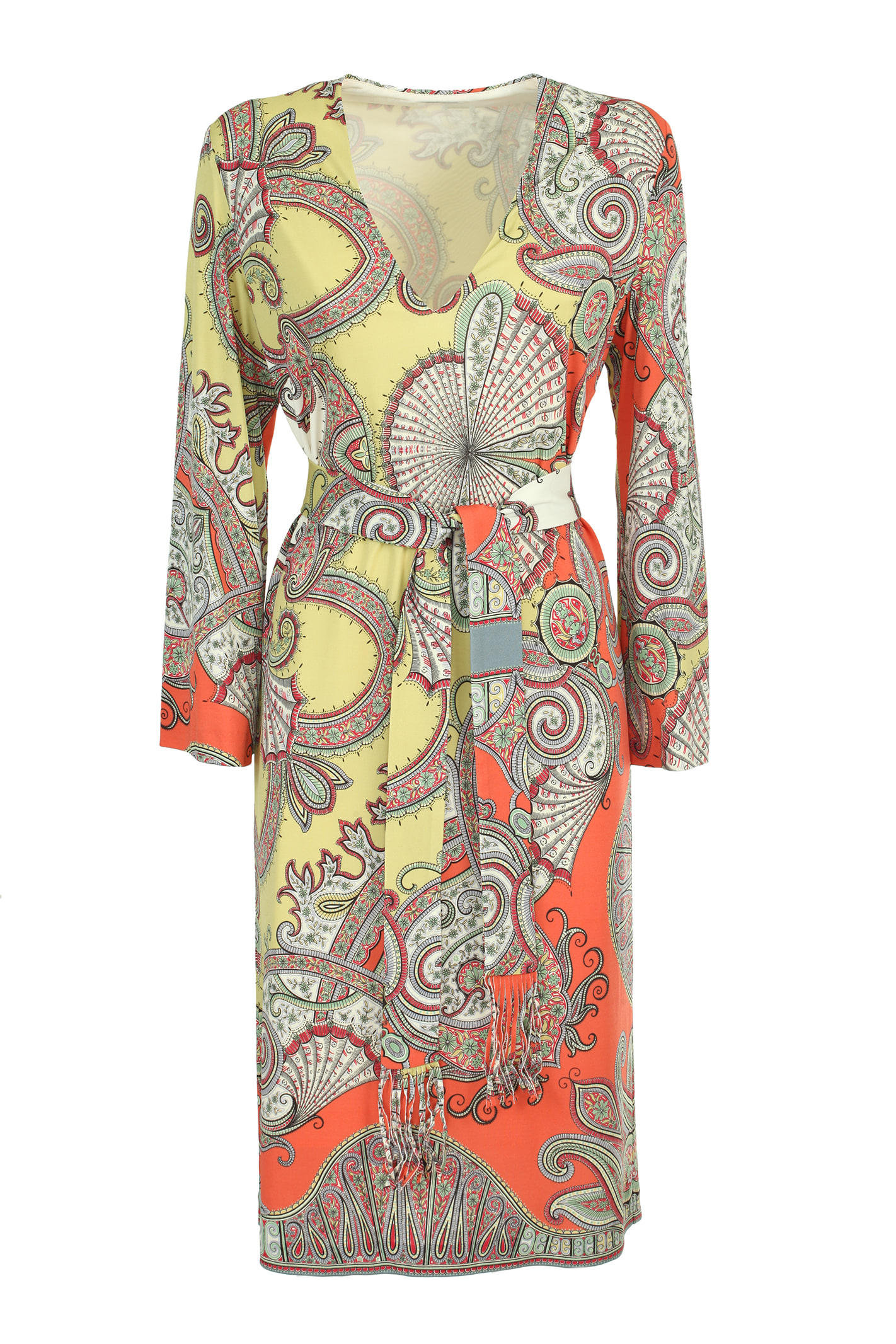 Buy Etro Jersey crepe dress online, shop Etro with free shipping