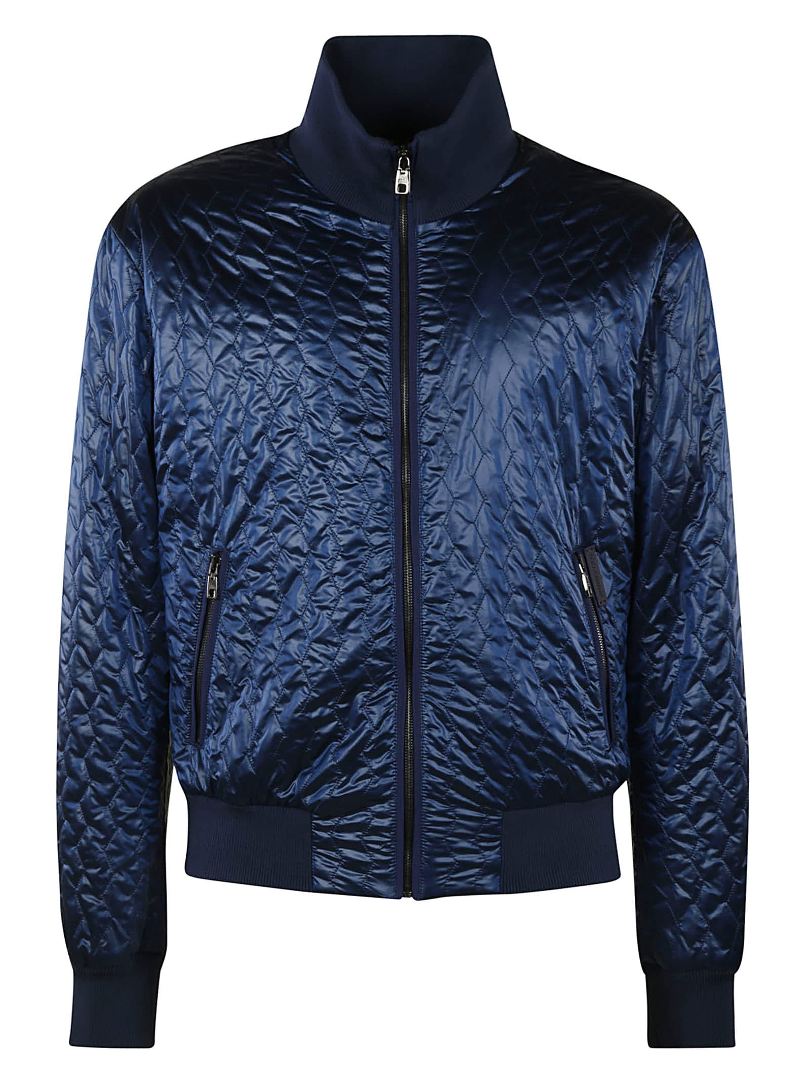 Dolce & Gabbana Quilted Zip Jacket