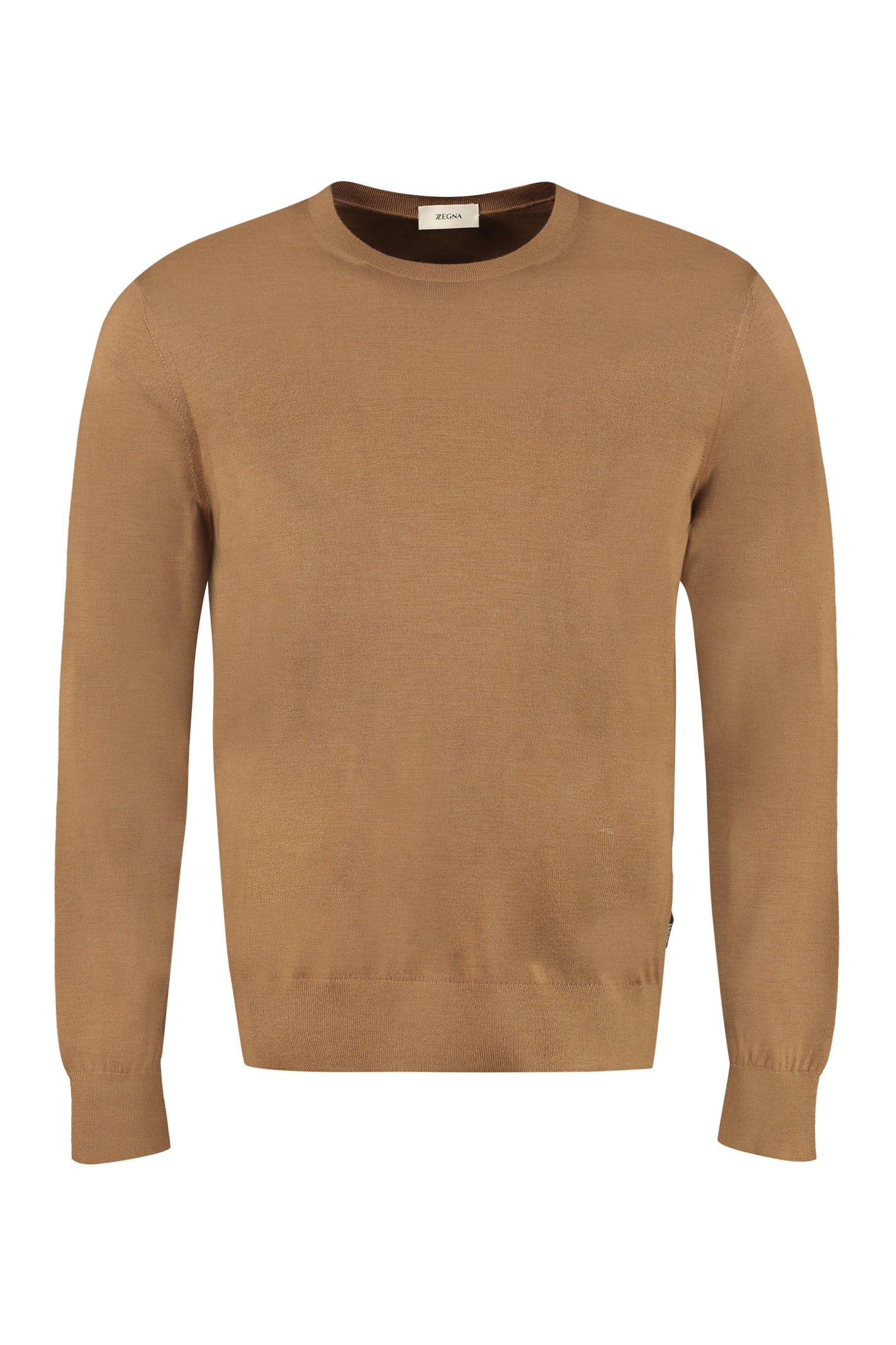 Z Zegna Wool Crew-neck Sweater
