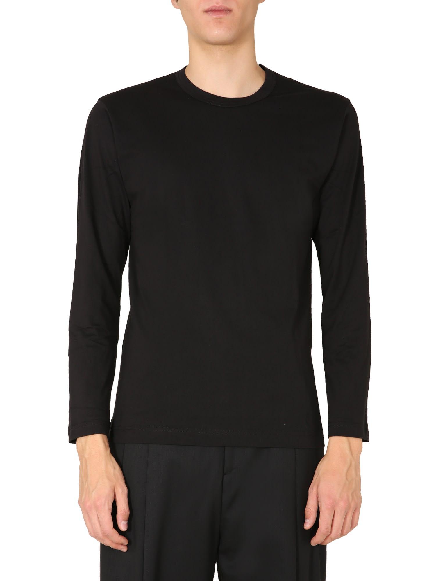 Comme Des Garçons Shirt Cottons LONG SLEEVES T-SHIRT