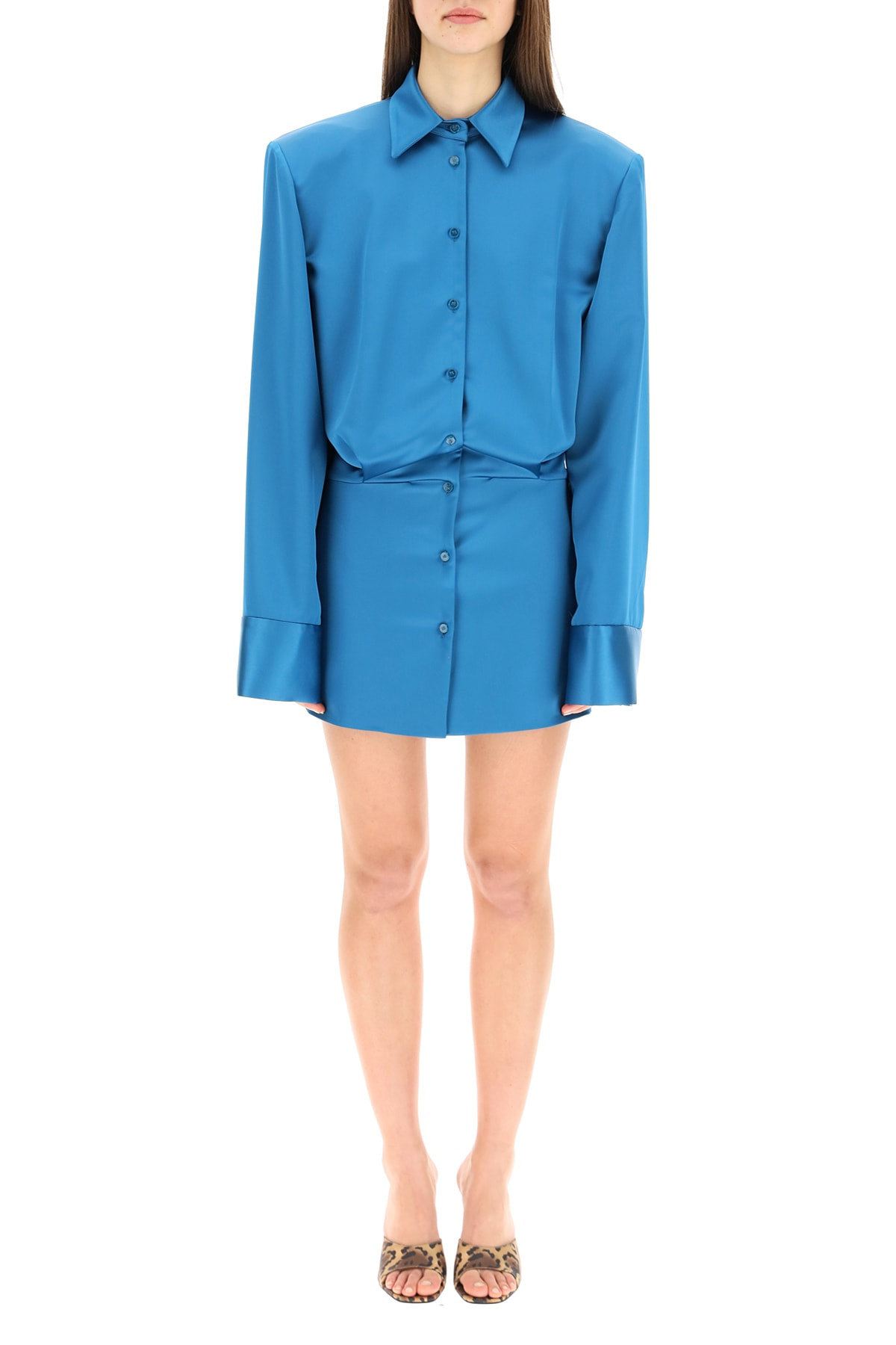 Attico Mini dresses MARGOT MINI SHIRT DRESS