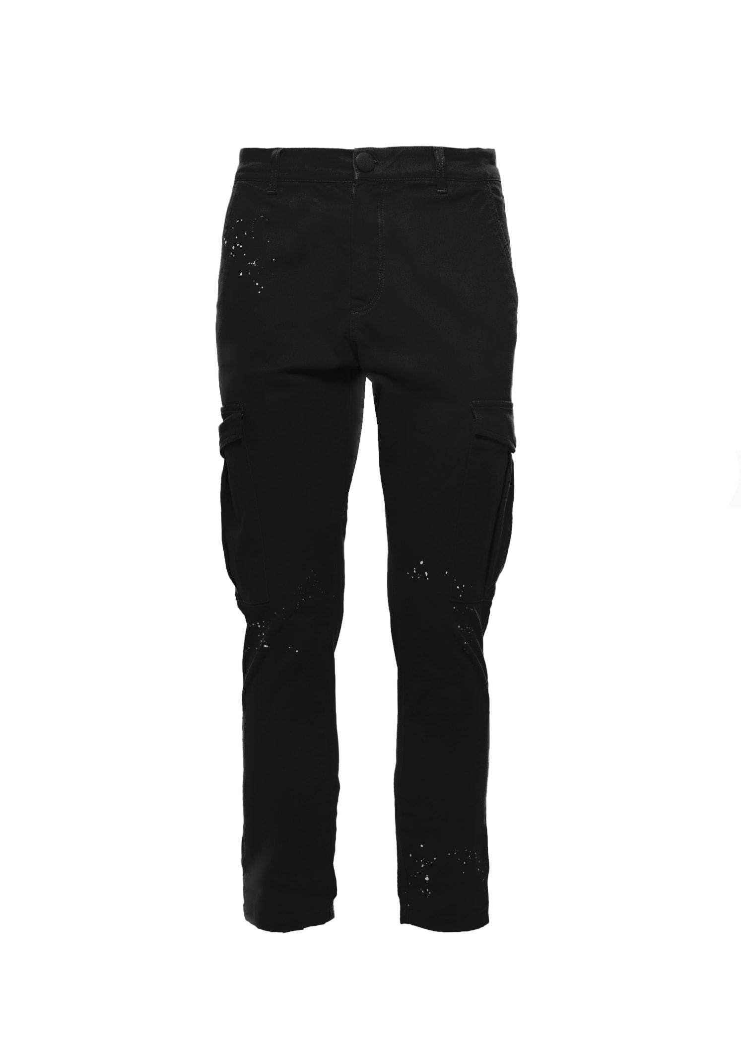 Pants Cargo Black