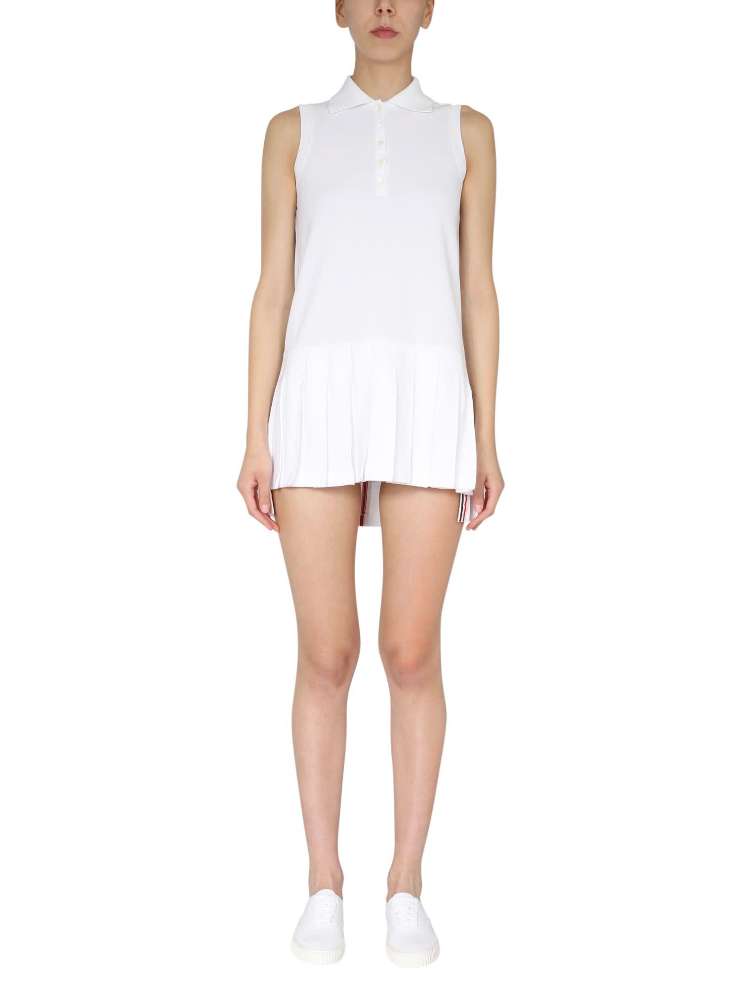 Thom Browne Dresses COTTON PIQUÉ POLO DRESS