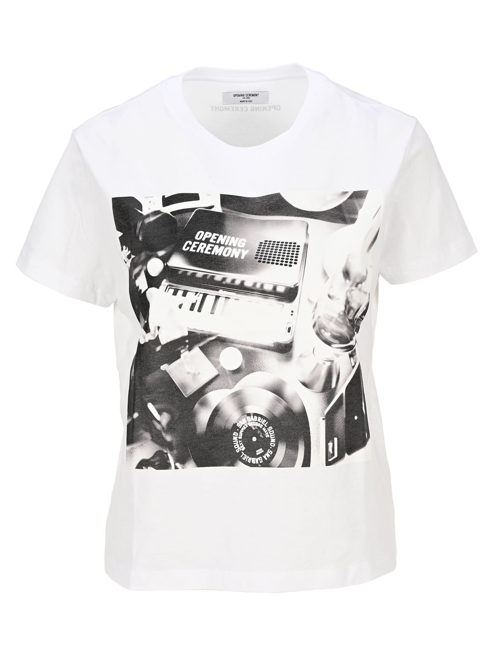 Opening Ceremony PIANO PRINT S/S T-SHIRT