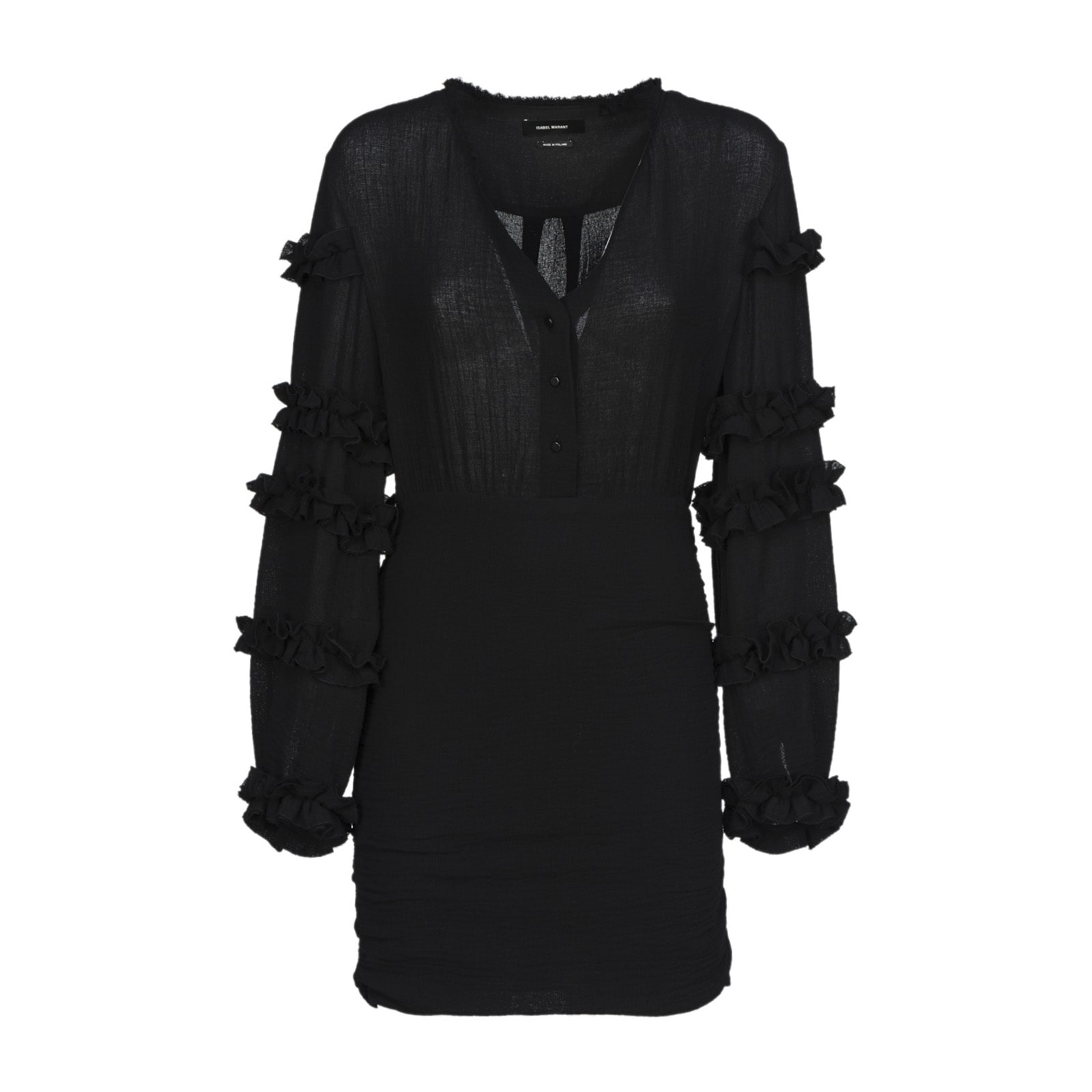 Isabel Marant Isabel Marant Ruffle-trimmed Dress