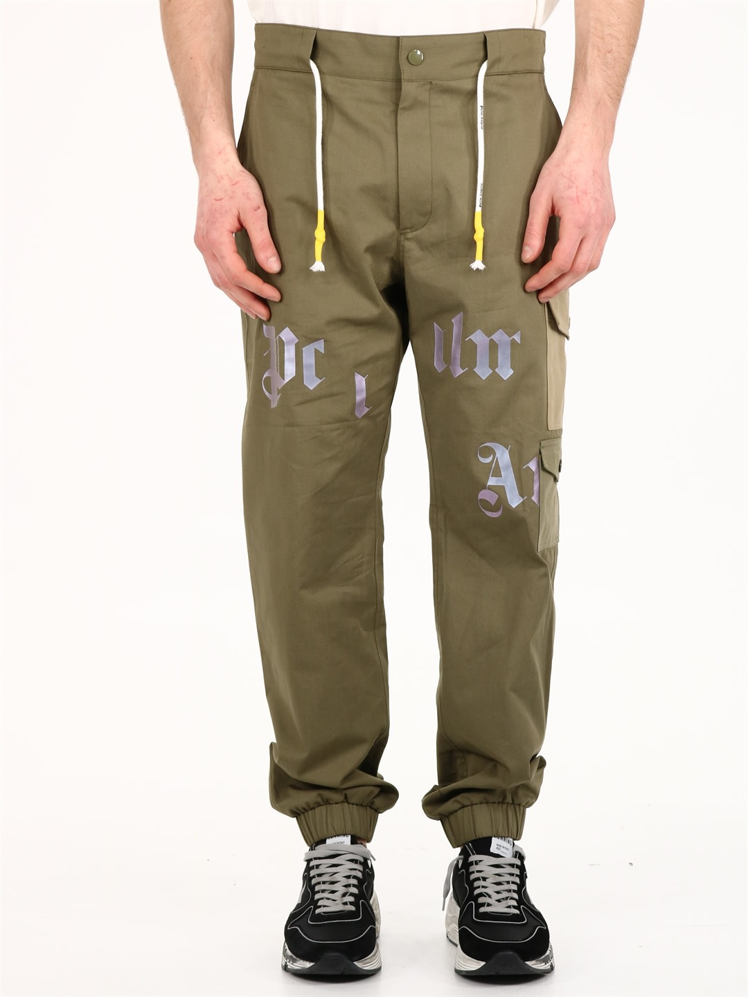 Palm Angels Clothing CARGO PANTS GREEN