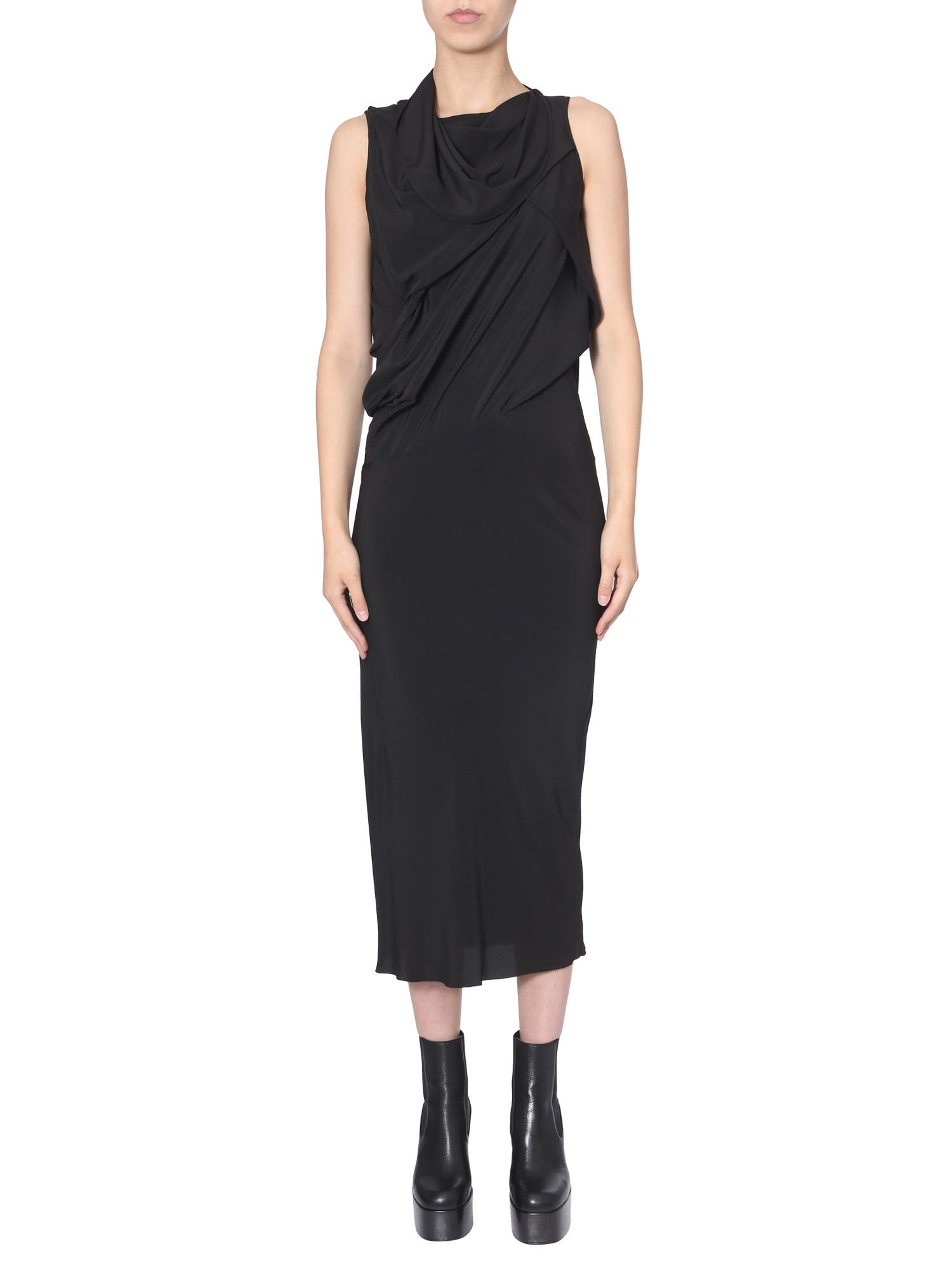 Buy Rick Owens Midi Dress online, shop Rick Owens with free shipping