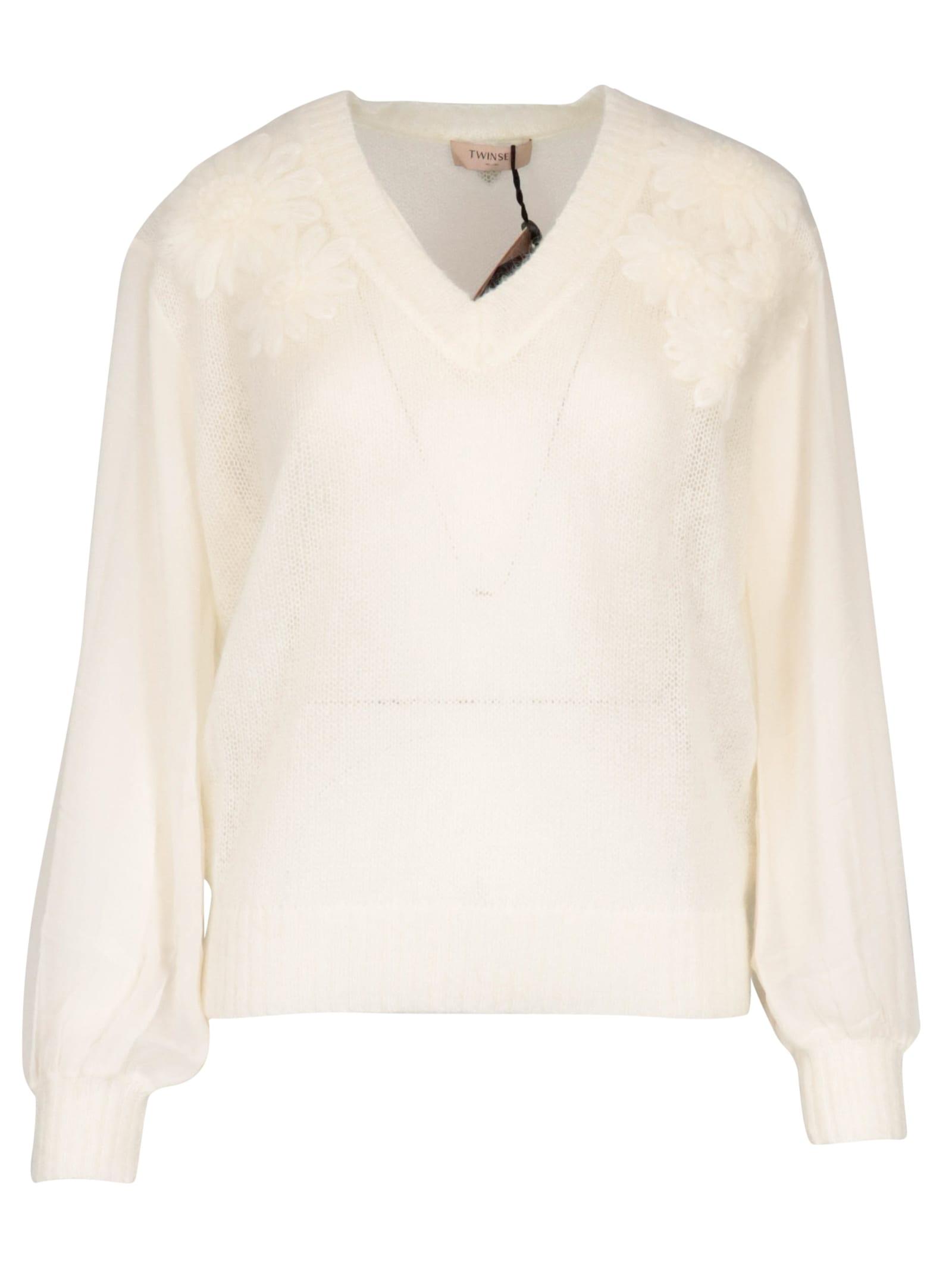 TwinSet Wool Top Top-wear