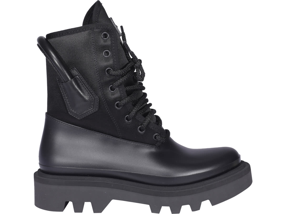 Buy Givenchy Combat Rainboot online, shop Givenchy shoes with free shipping