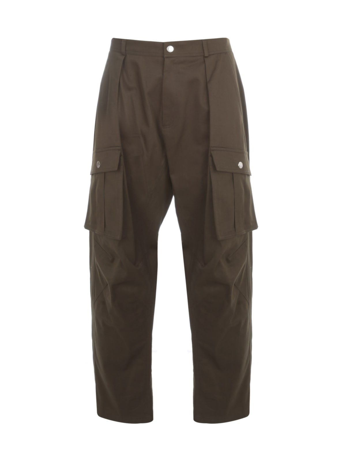 Les Hommes LOW CROTCH CASUAL PANTS W/ POCKETS