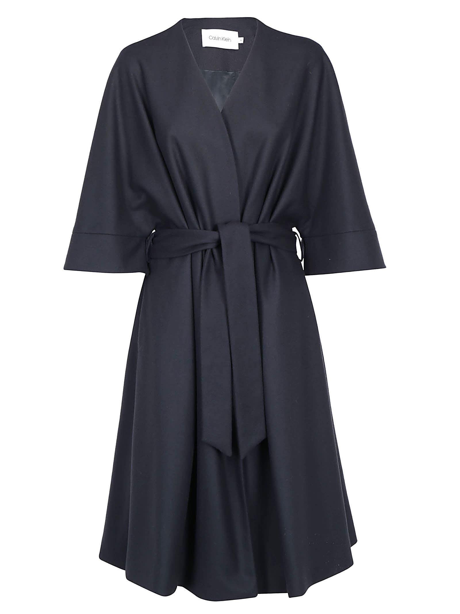 Calvin Klein Wrap Coat