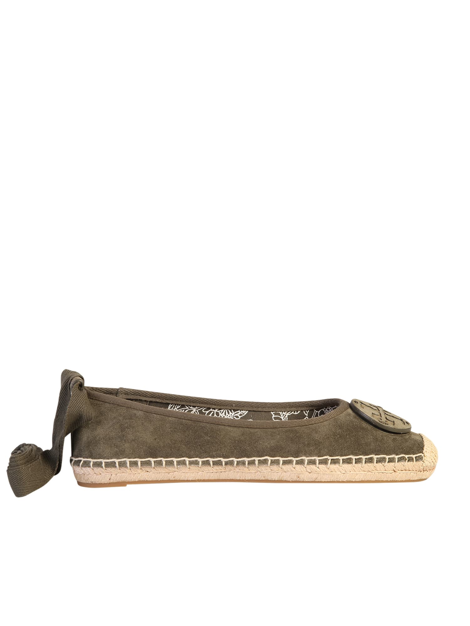 Buy Tory Burch Branded Espadrillas online, shop Tory Burch shoes with free shipping