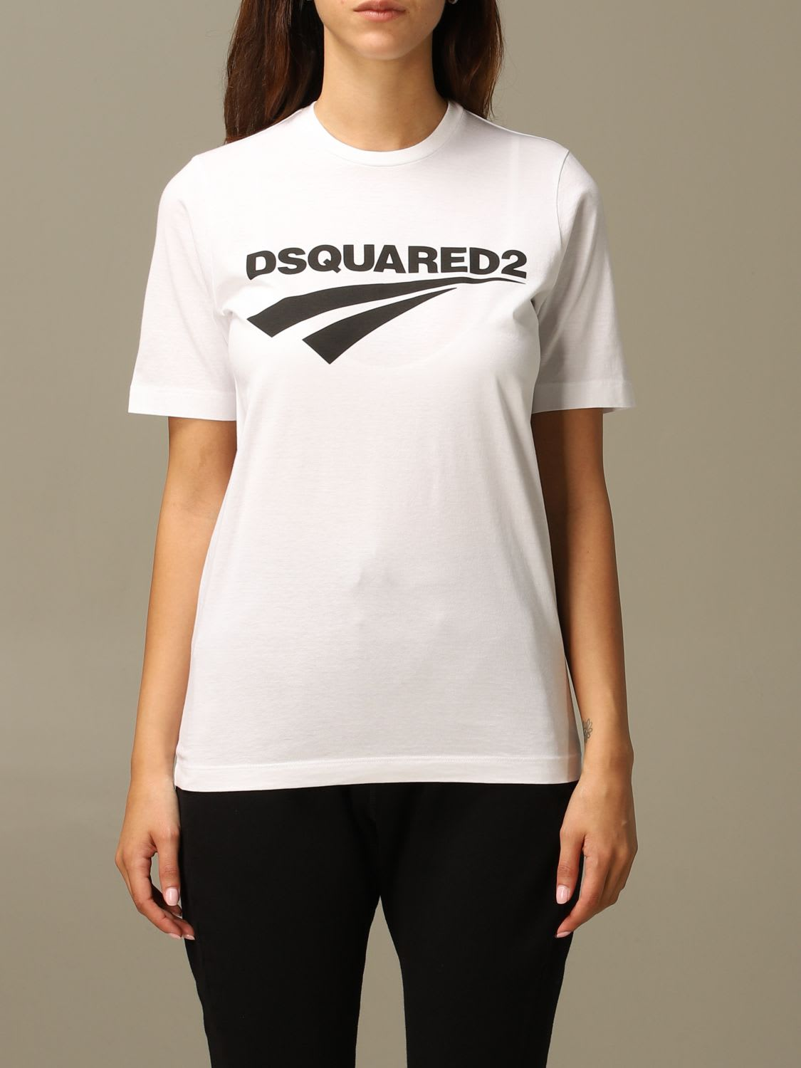 Dsquared2 T-shirt Dsquared2 Crew Neck T-shirt With Logo Print
