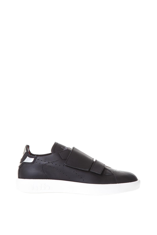 Diadora Heritage Game Ita Design Black Leather Sneakers