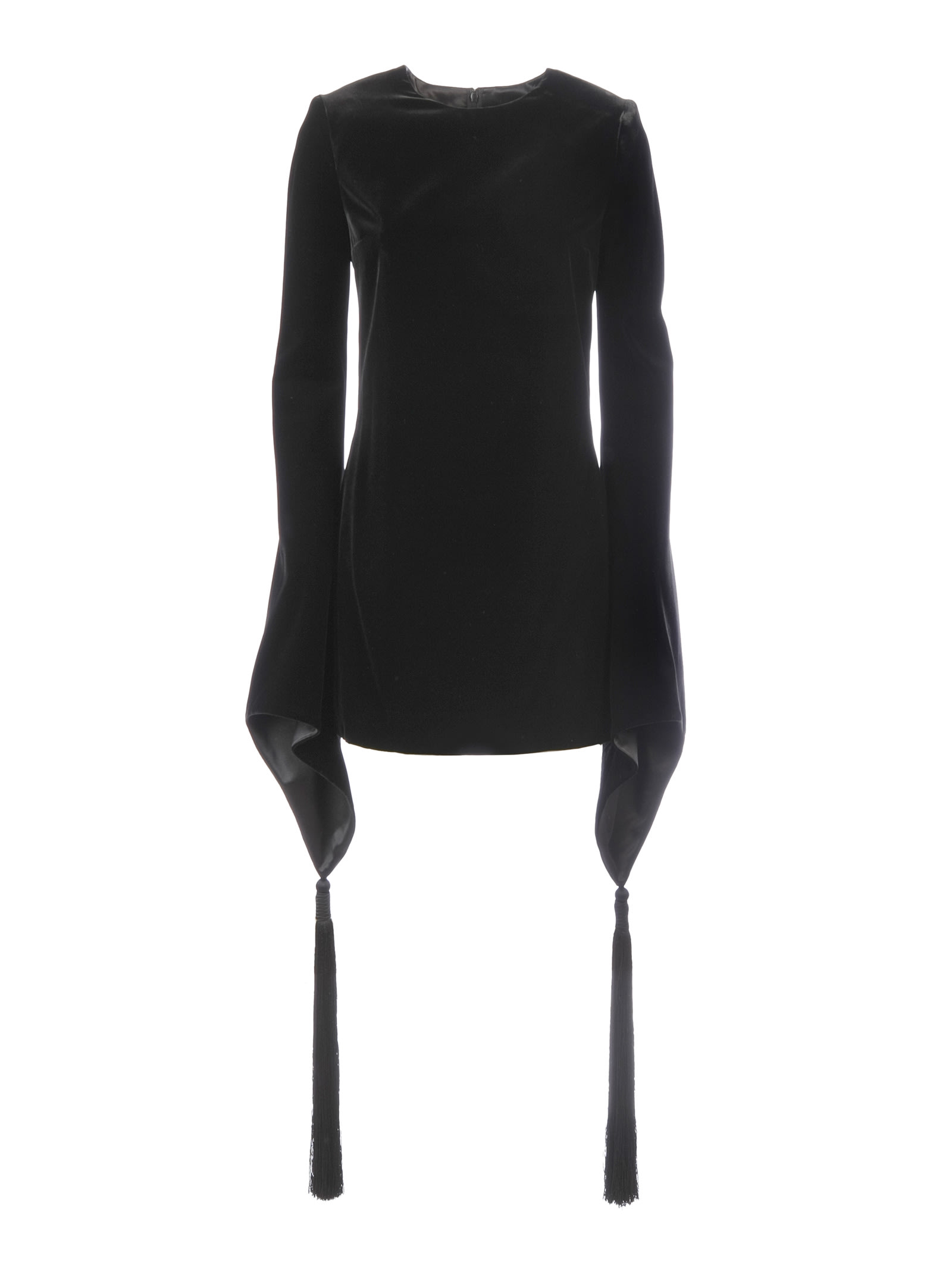 Saint Laurent Asymmetric Cuffs Dress