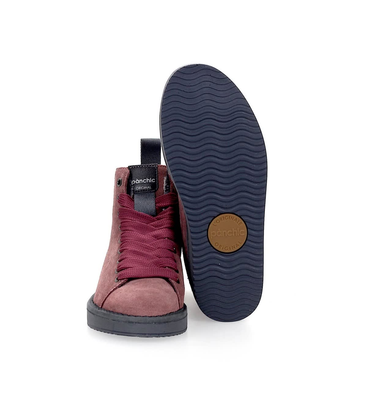 Panchic Pànchic Dark Pink Suède Roma W Brownrose Boot