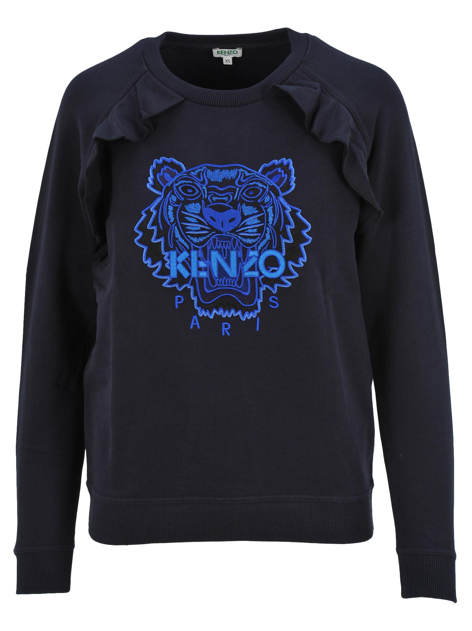 10afab4a Kenzo Tiger Ruffle Sweatshirt