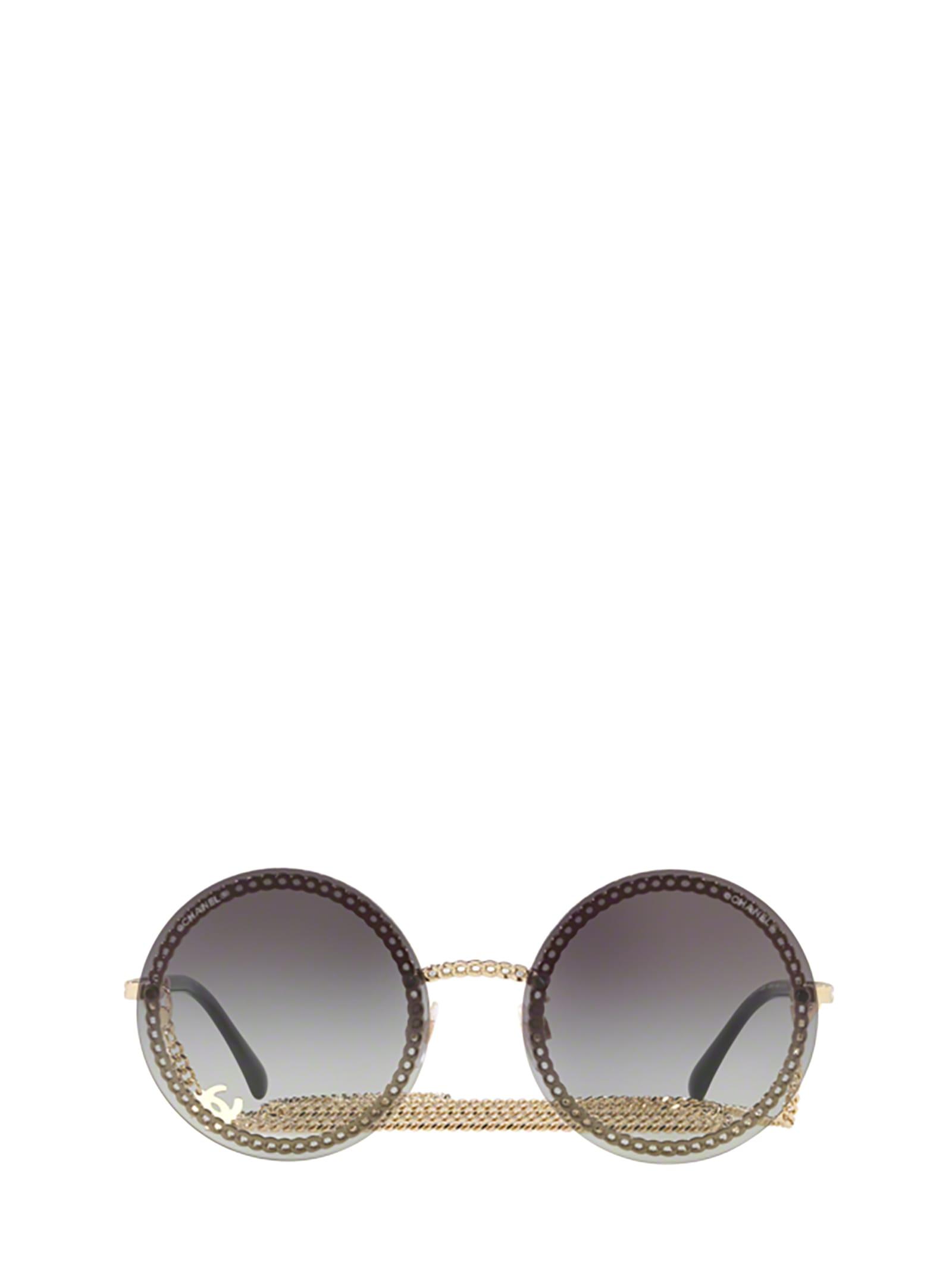 Chanel Chanel Ch4245 Pale Gold Sunglasses