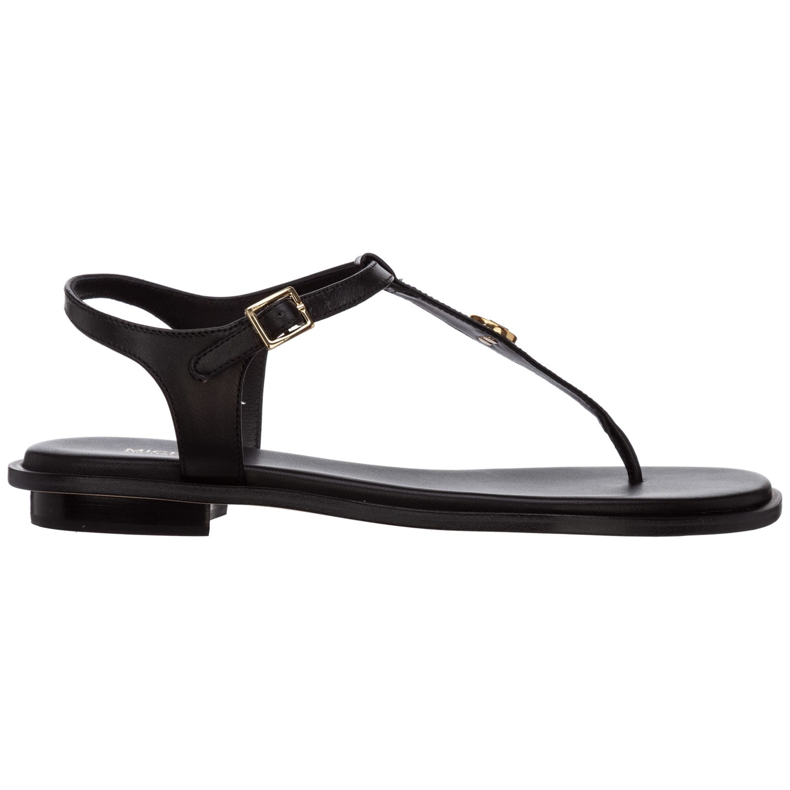 Buy Michael Kors Mallory T-bar Sandals online, shop Michael Kors shoes with free shipping