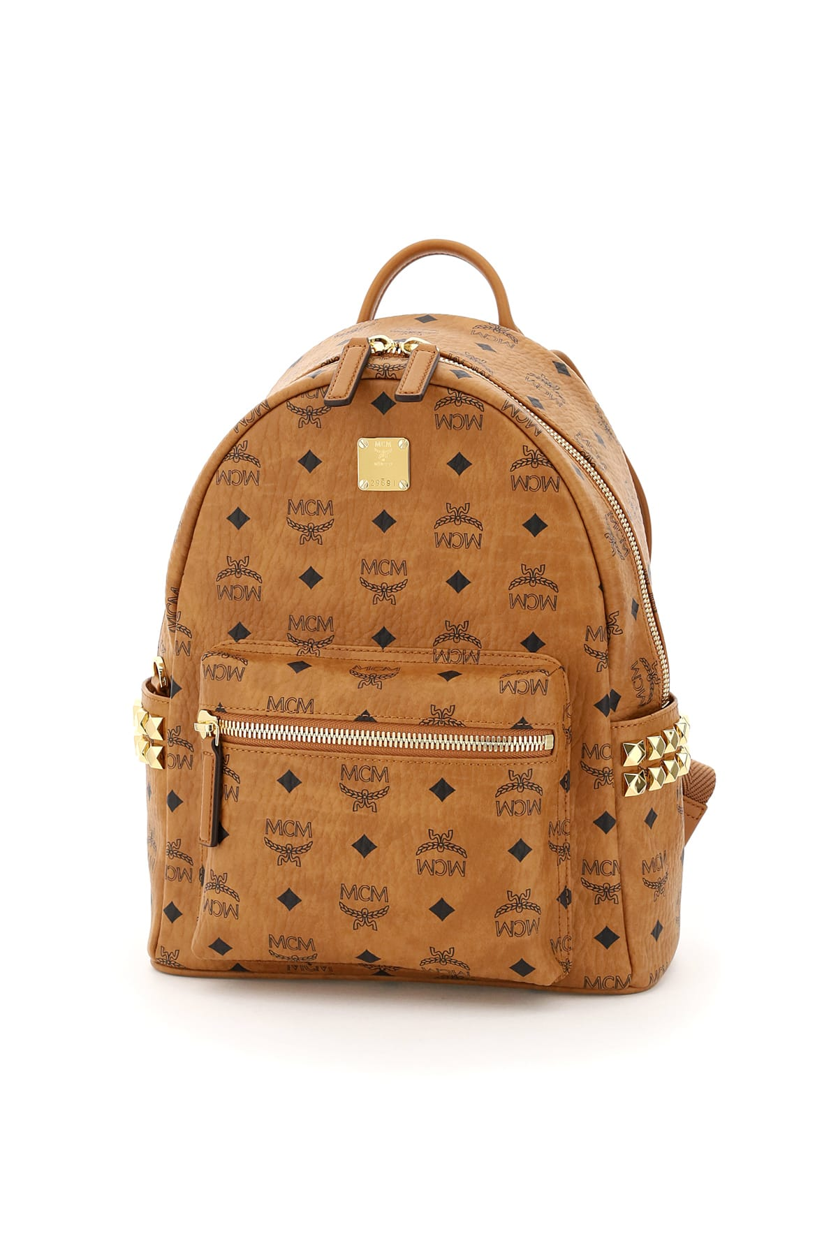 Mcm STARK VISETOS BACKPACK WITH SIDE STUDS