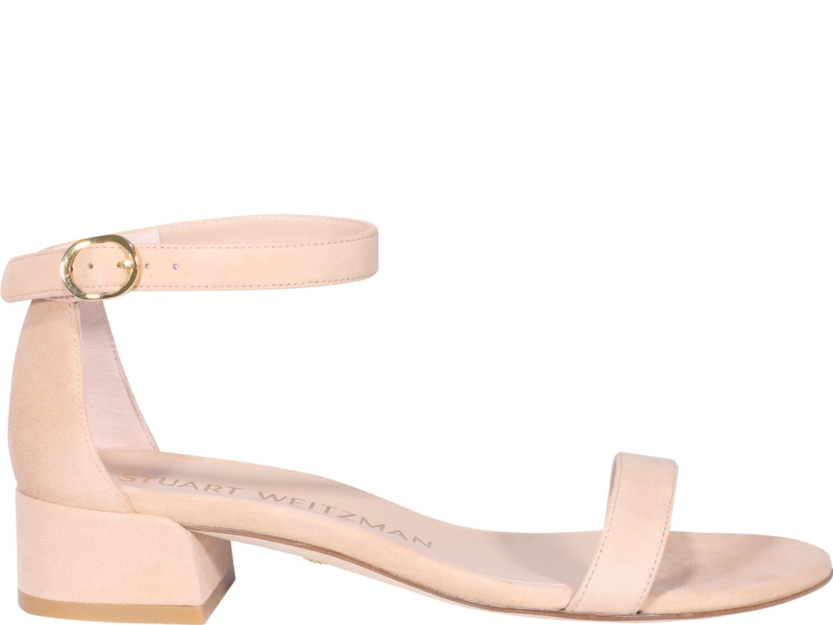 Stuart Weitzman NUDIST JUNE SANDALS