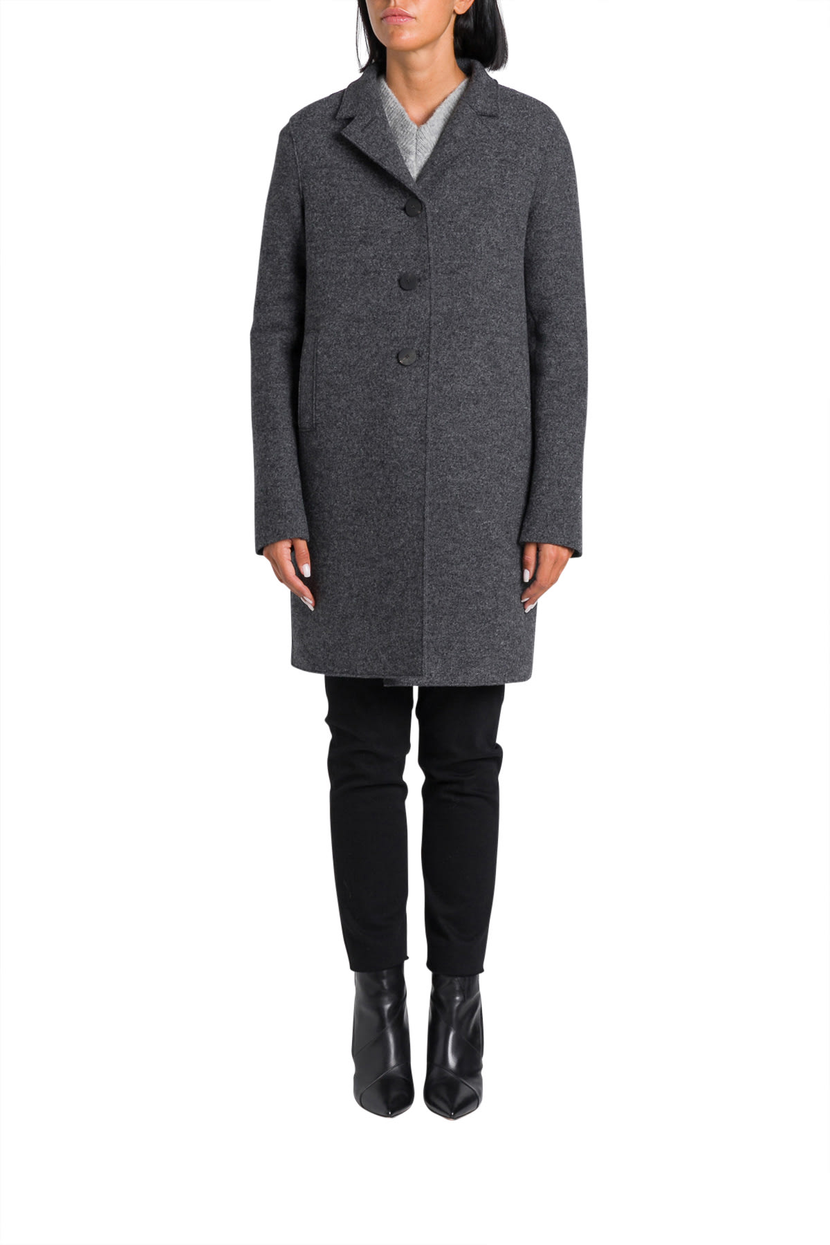 Photo of  Harris Wharf London Boxy Coat- shop Harris Wharf London jackets online sales