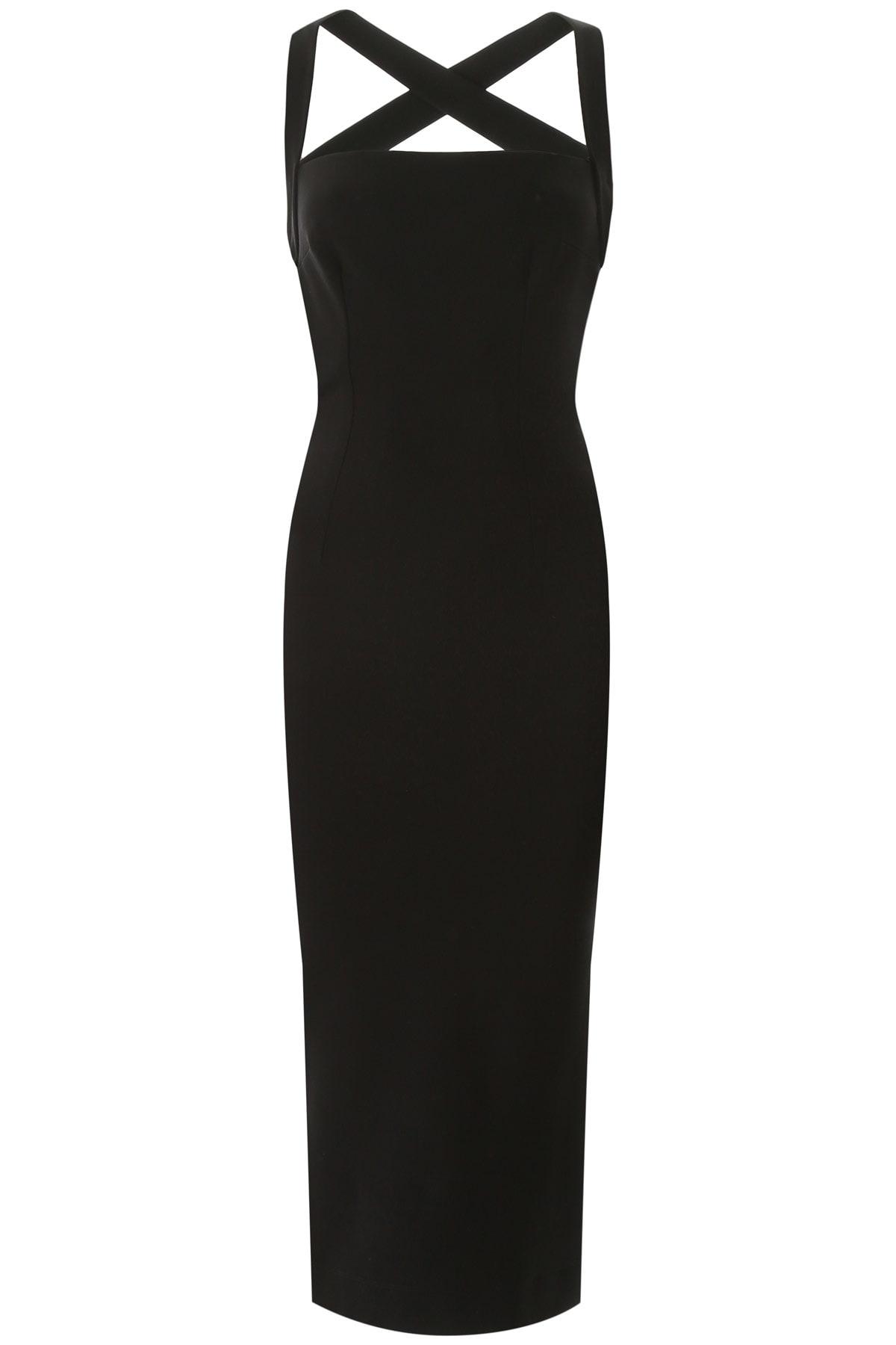 Buy Dolce & Gabbana Jersey Midi Dress online, shop Dolce & Gabbana with free shipping