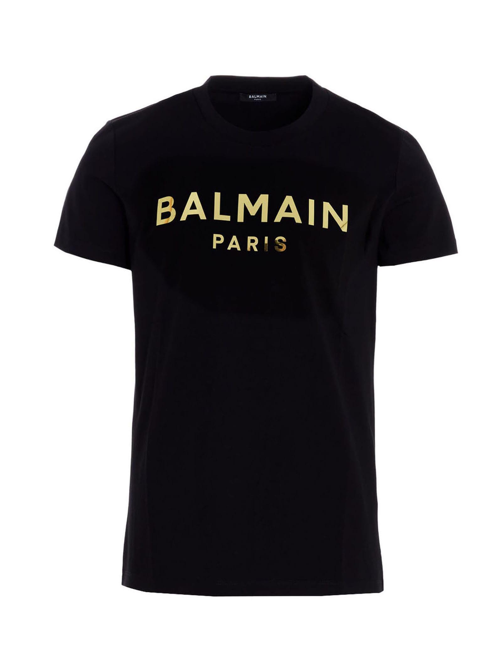 BALMAIN BALMAIN FOIL TS T-SHIRT