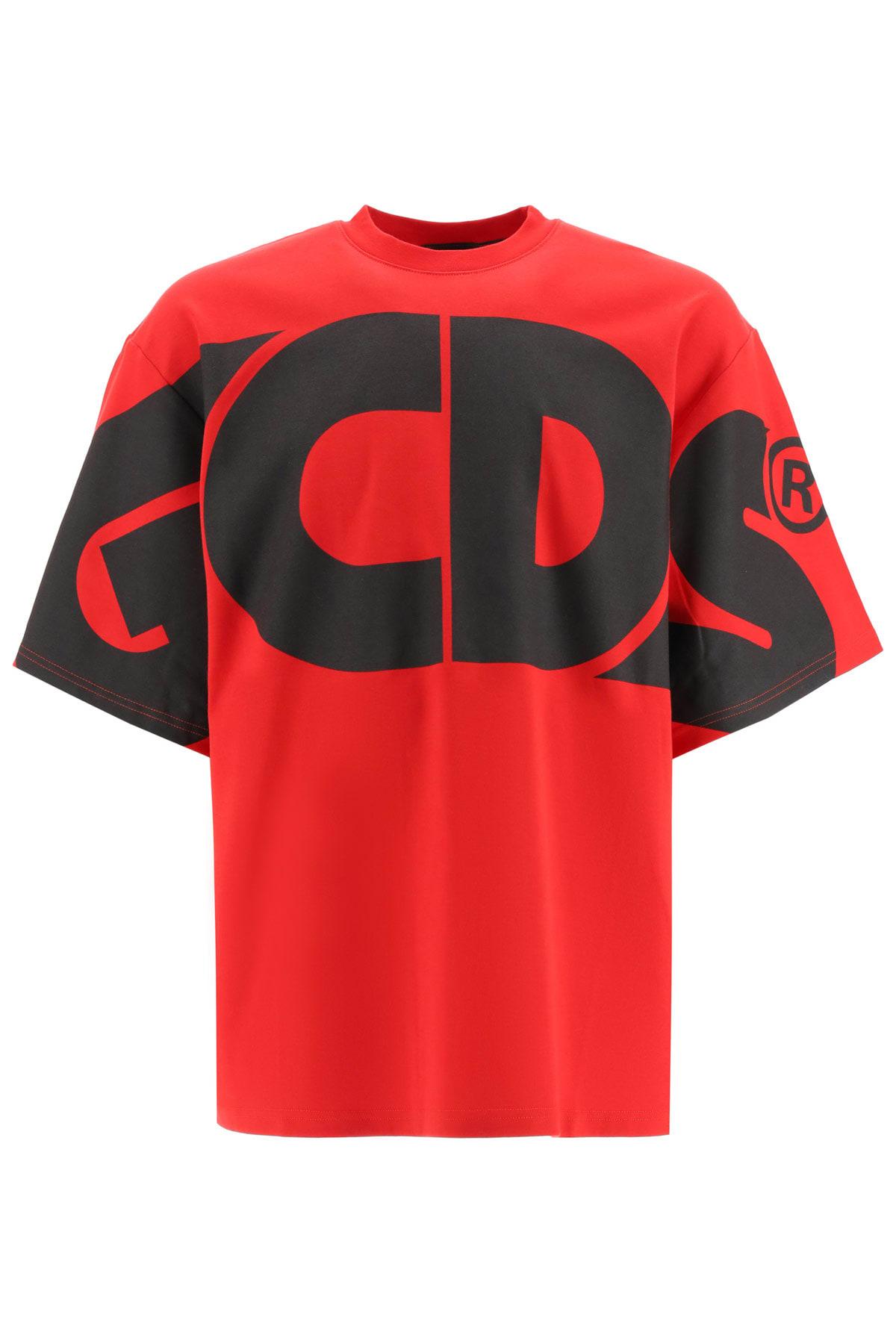 GCDS T-shirt With Maxi Logo