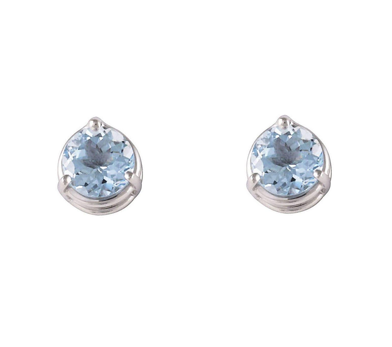 Lo Spazio Aquamarine Earrings