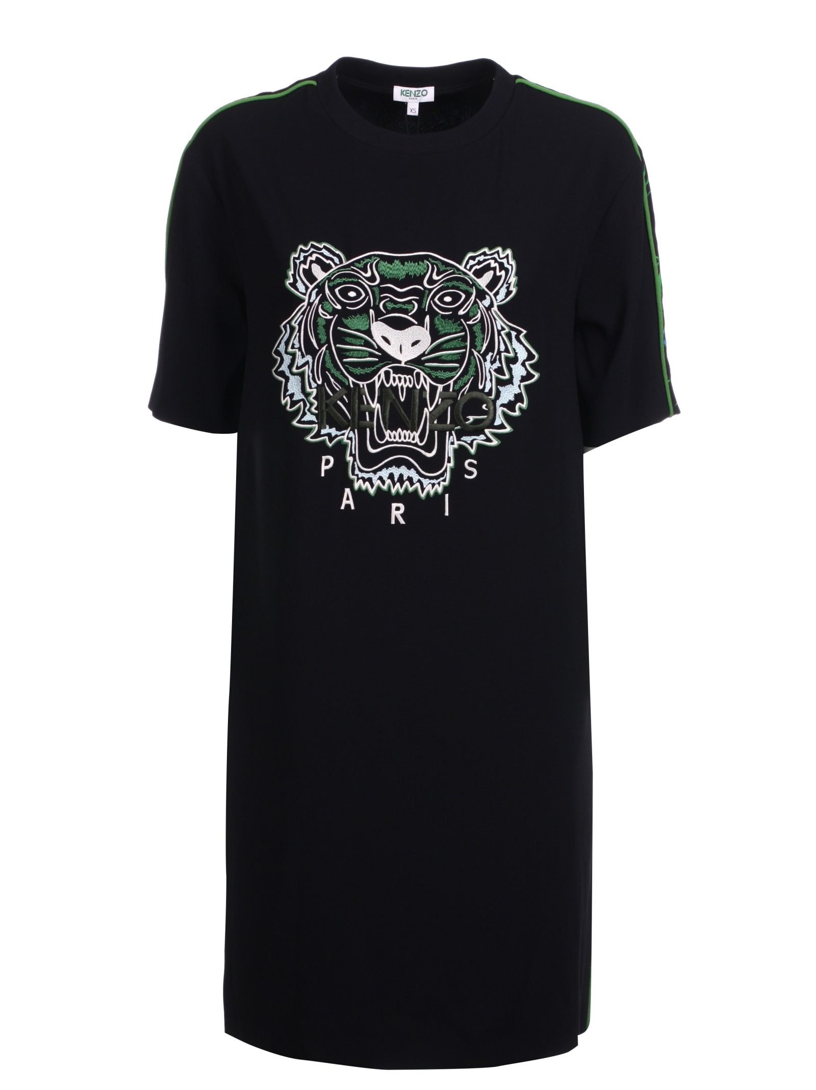 Buy Kenzo Tiger T-shirt Dress online, shop Kenzo with free shipping
