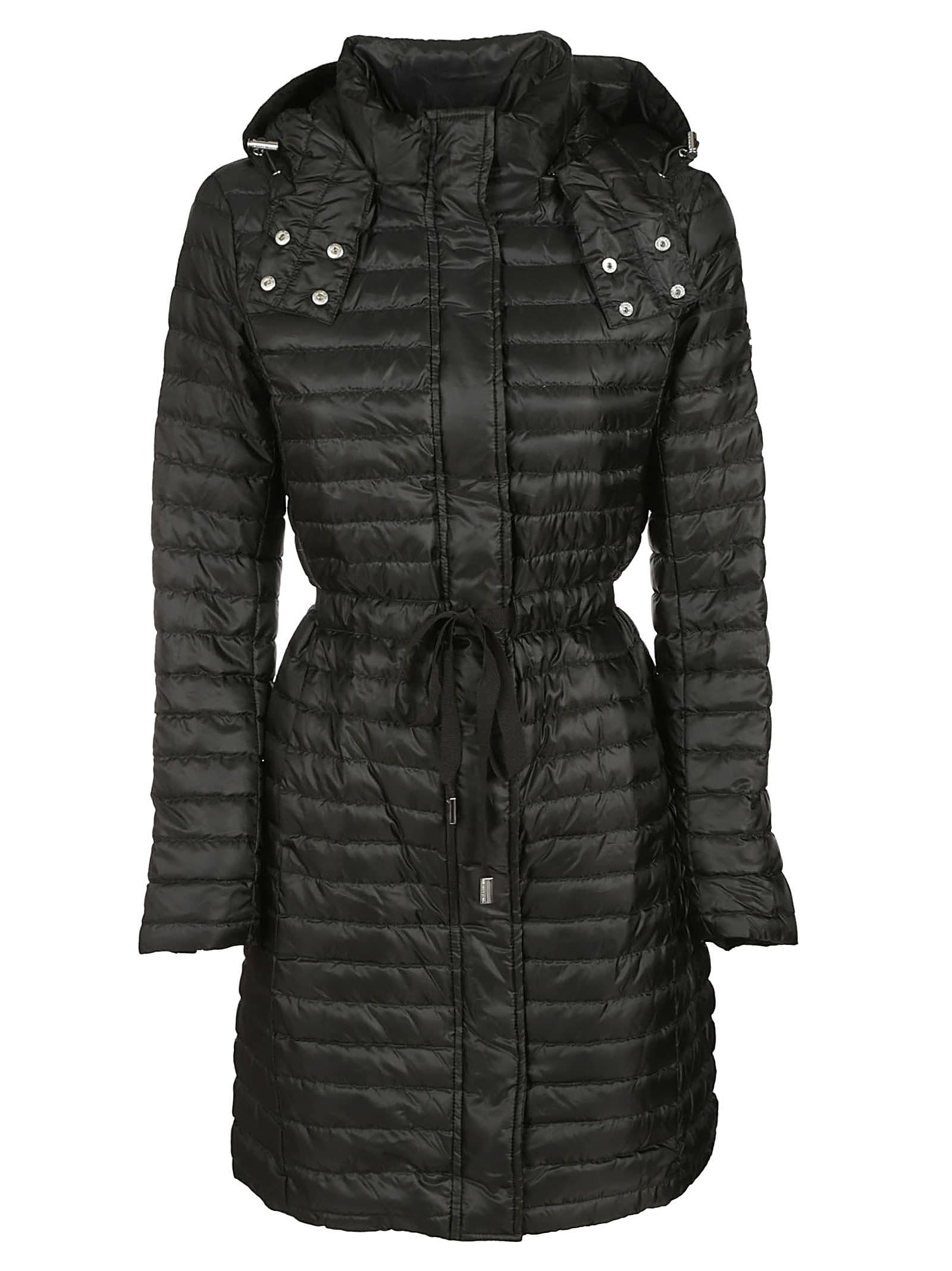 Michael Kors Tie Waist Padded Coat