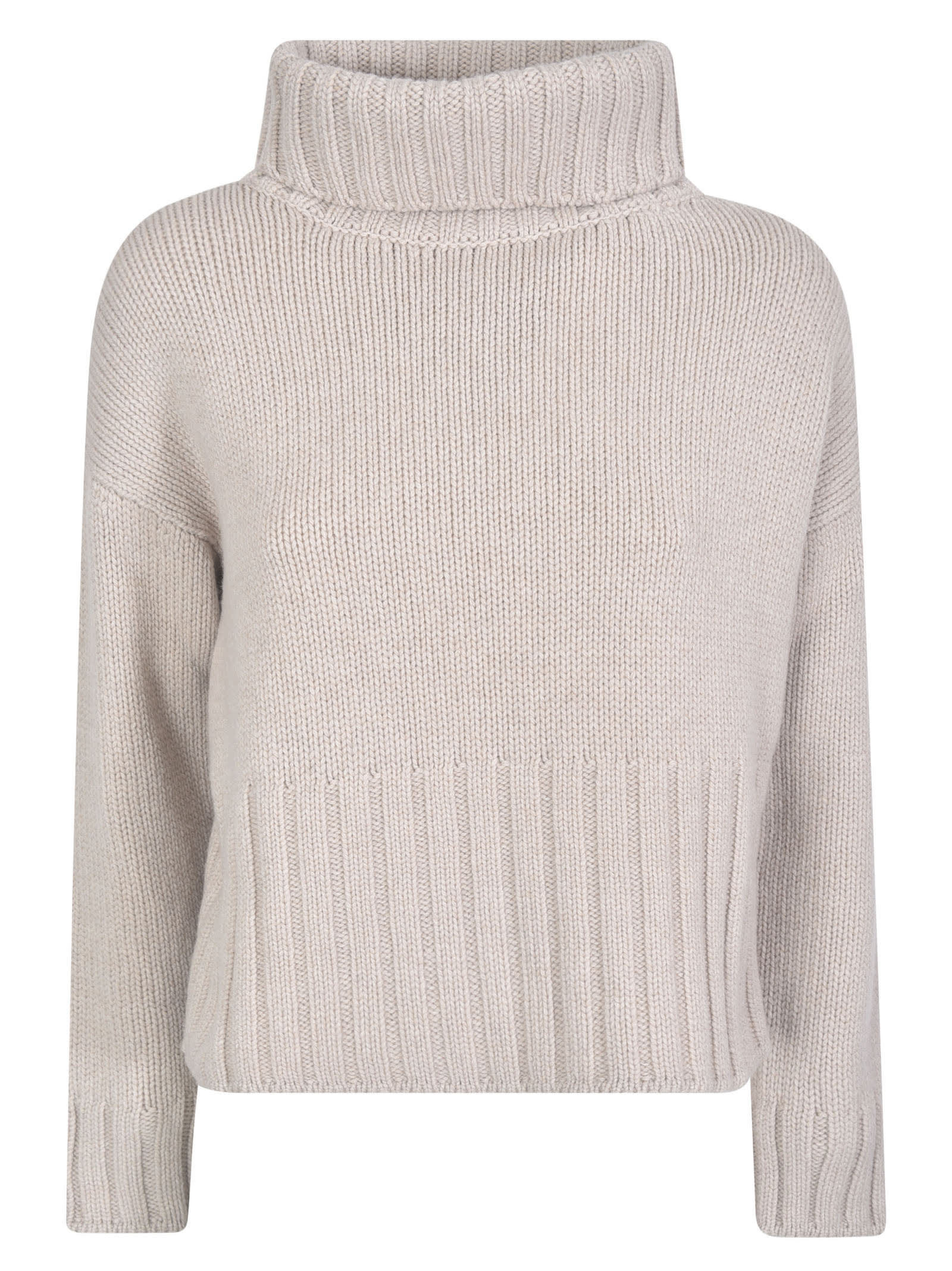 Base Ribbed Neck Sweater
