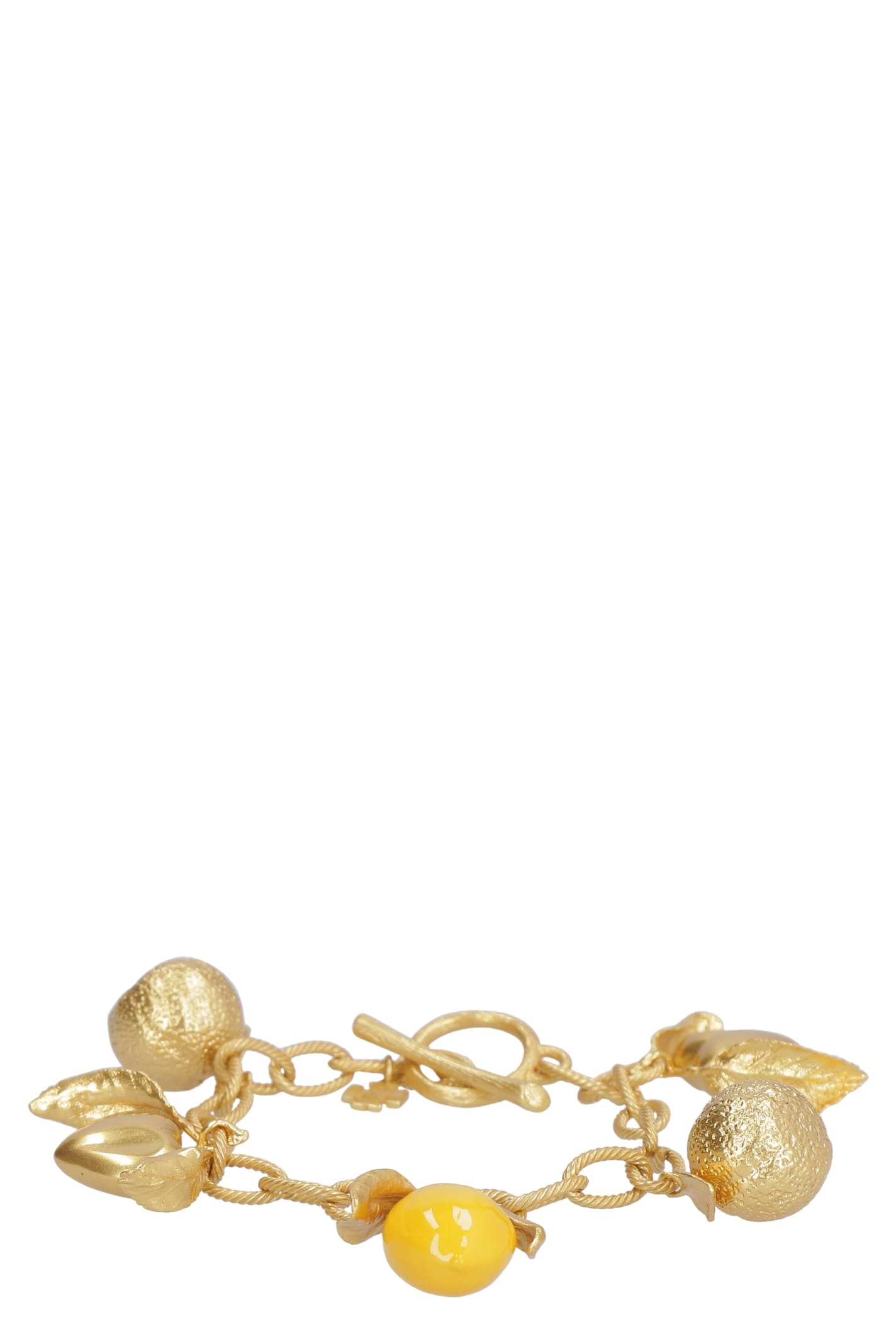 Tory Burch Lemon Charm Bracelet