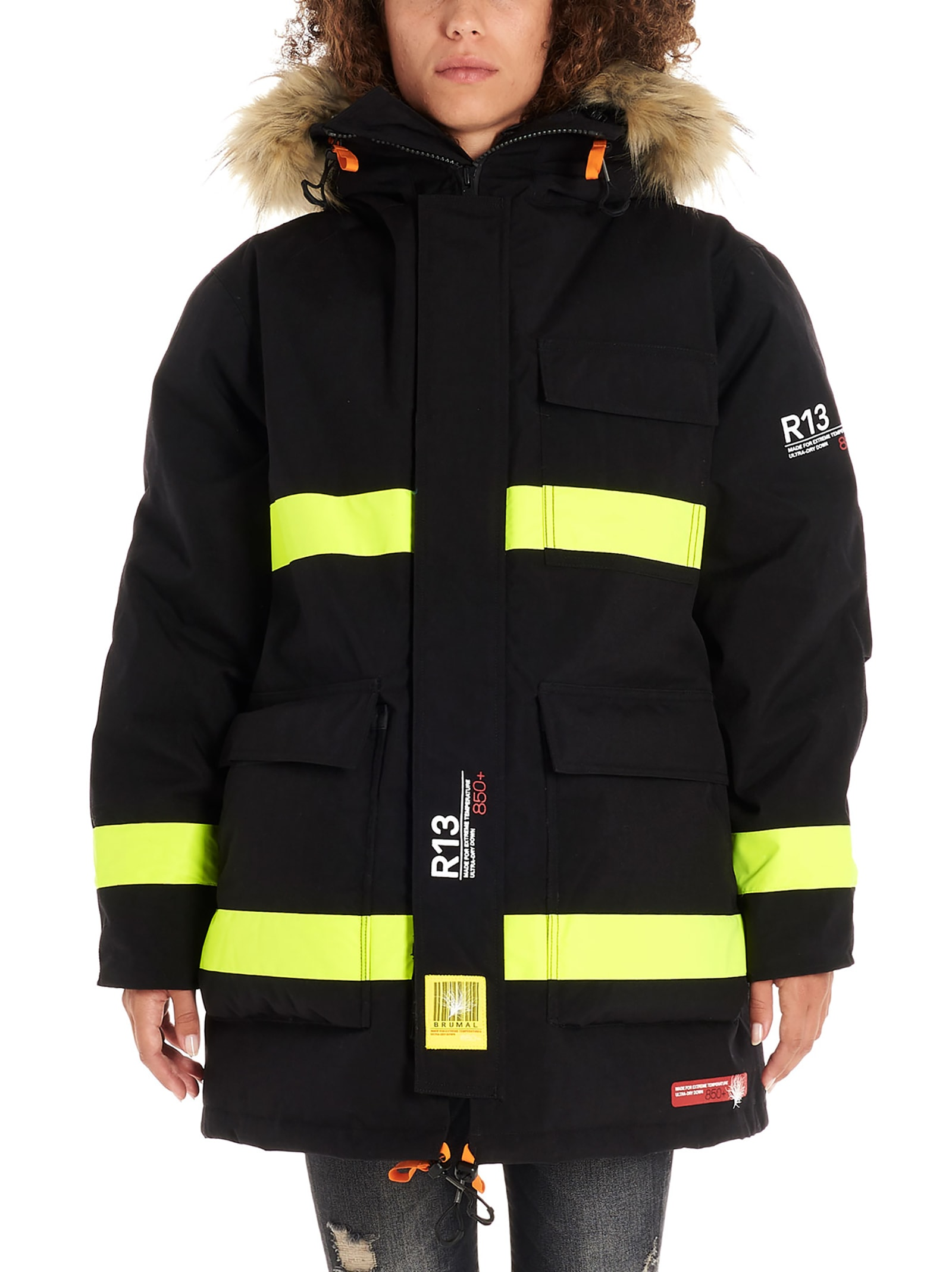 R13 fireman Parka