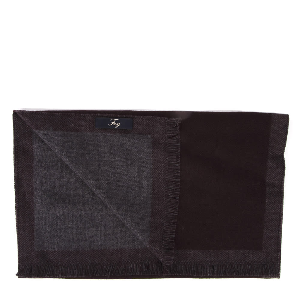 Recommend Cheap Fay Bordeaux Virgin Wool Scarf