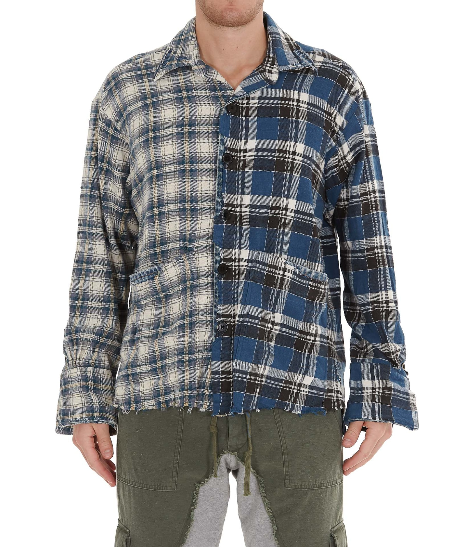 GREG LAUREN BOXY STUDIO SHIRT