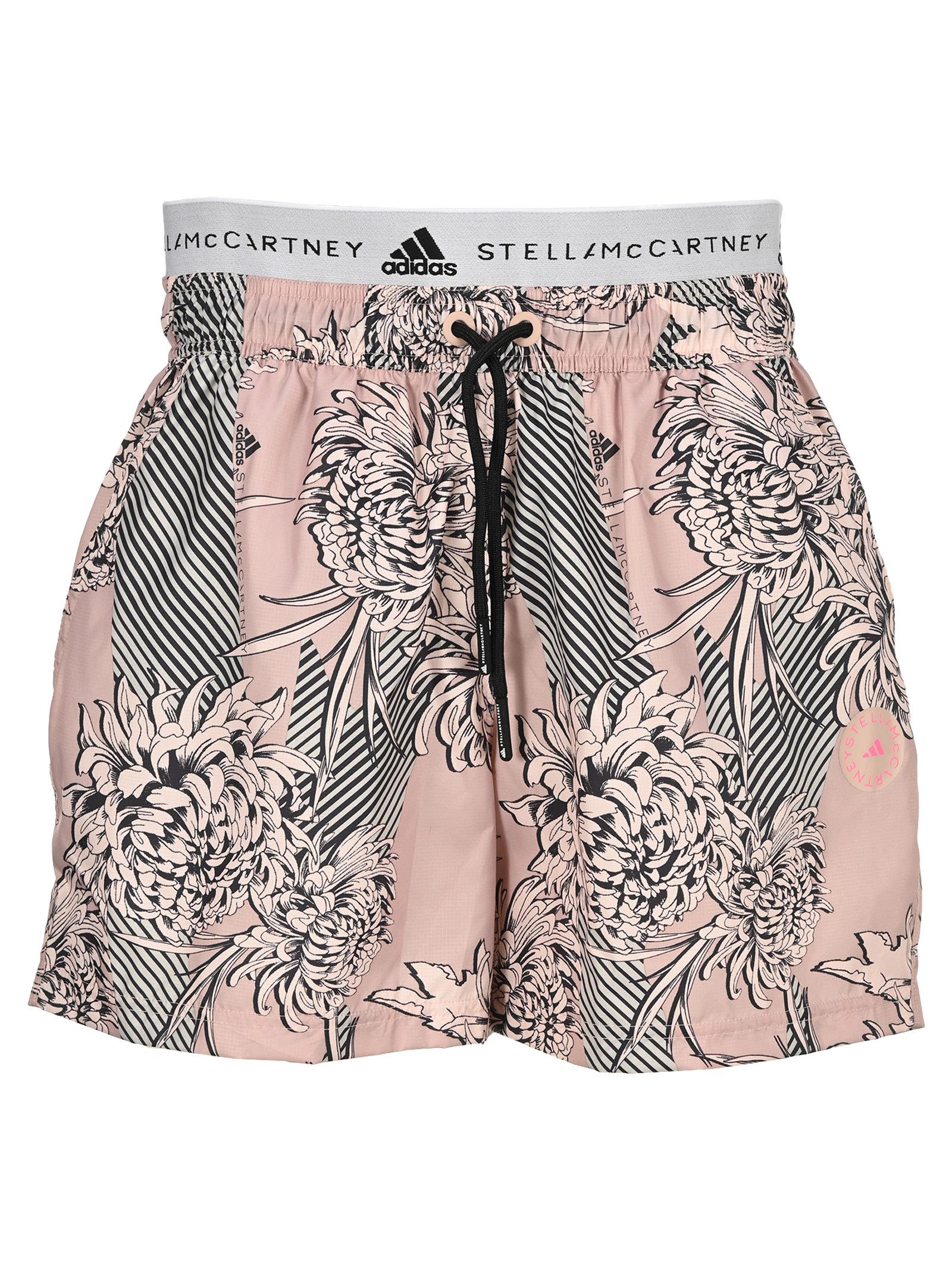 Adidas By Stella Mccartney ADIDAS BY STELLA MCCARTNEY FLOWER PRINT SHORTS