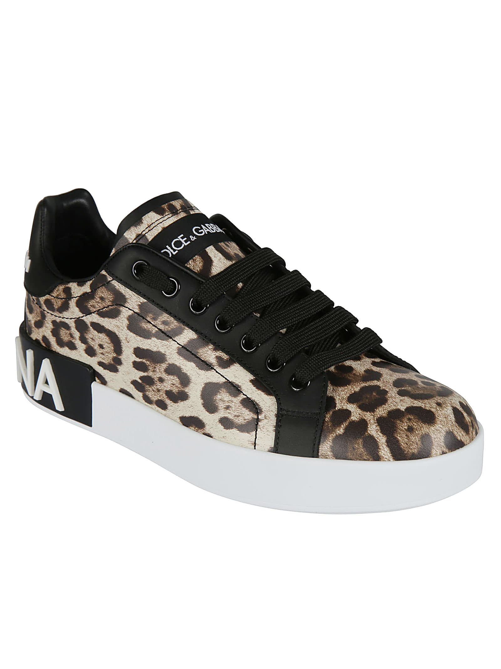 Cheap And Nice Dolce & Gabbana Leopard Print Sneakers - Great Deals