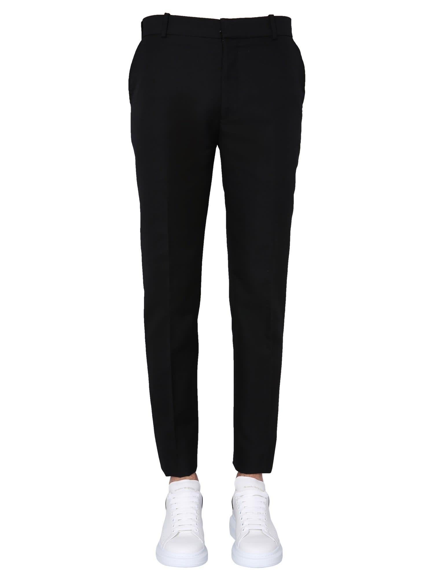 Alexander McQueen Slim Fit Pants