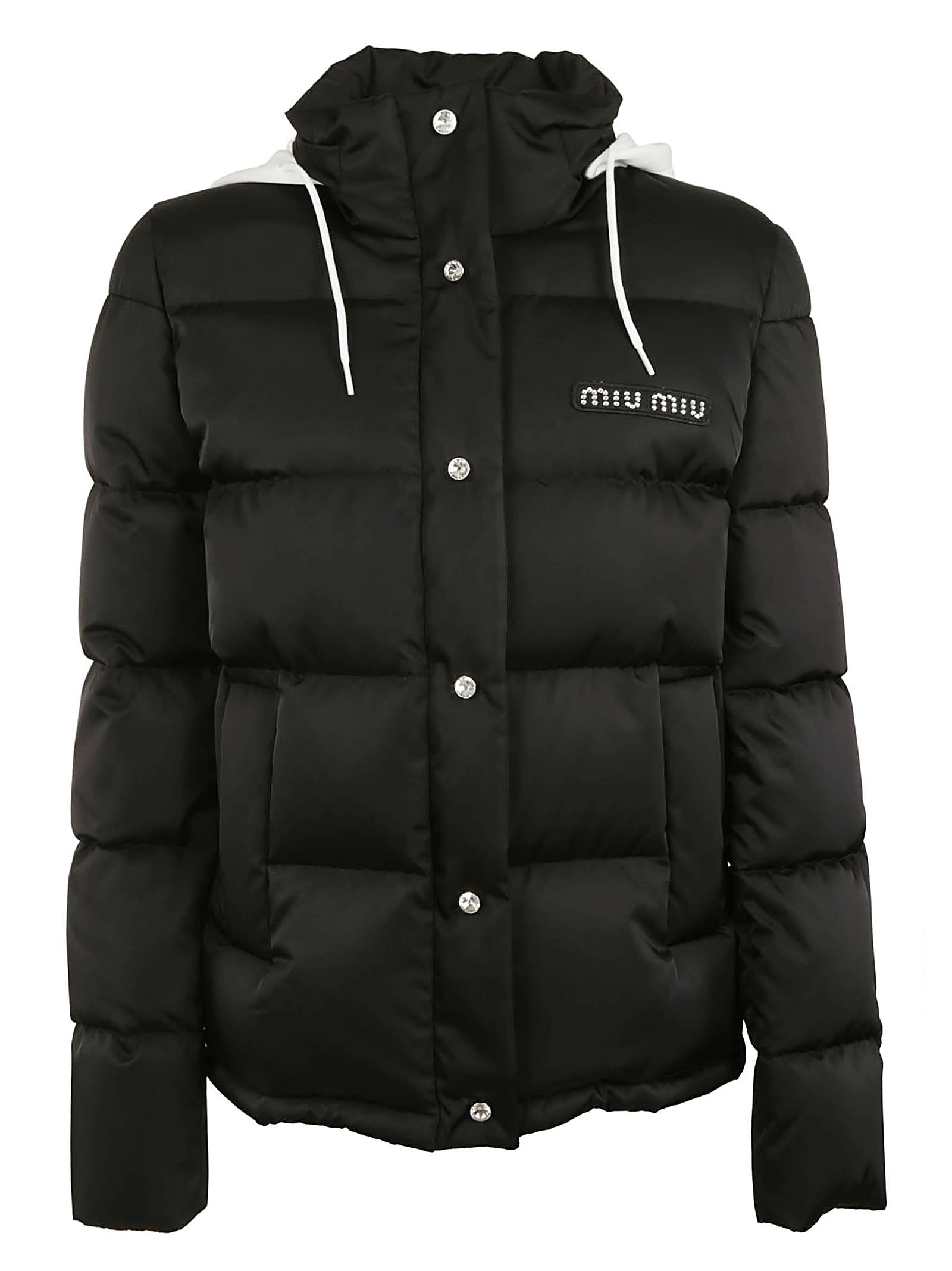Miu Miu Embellished Padded Jacket