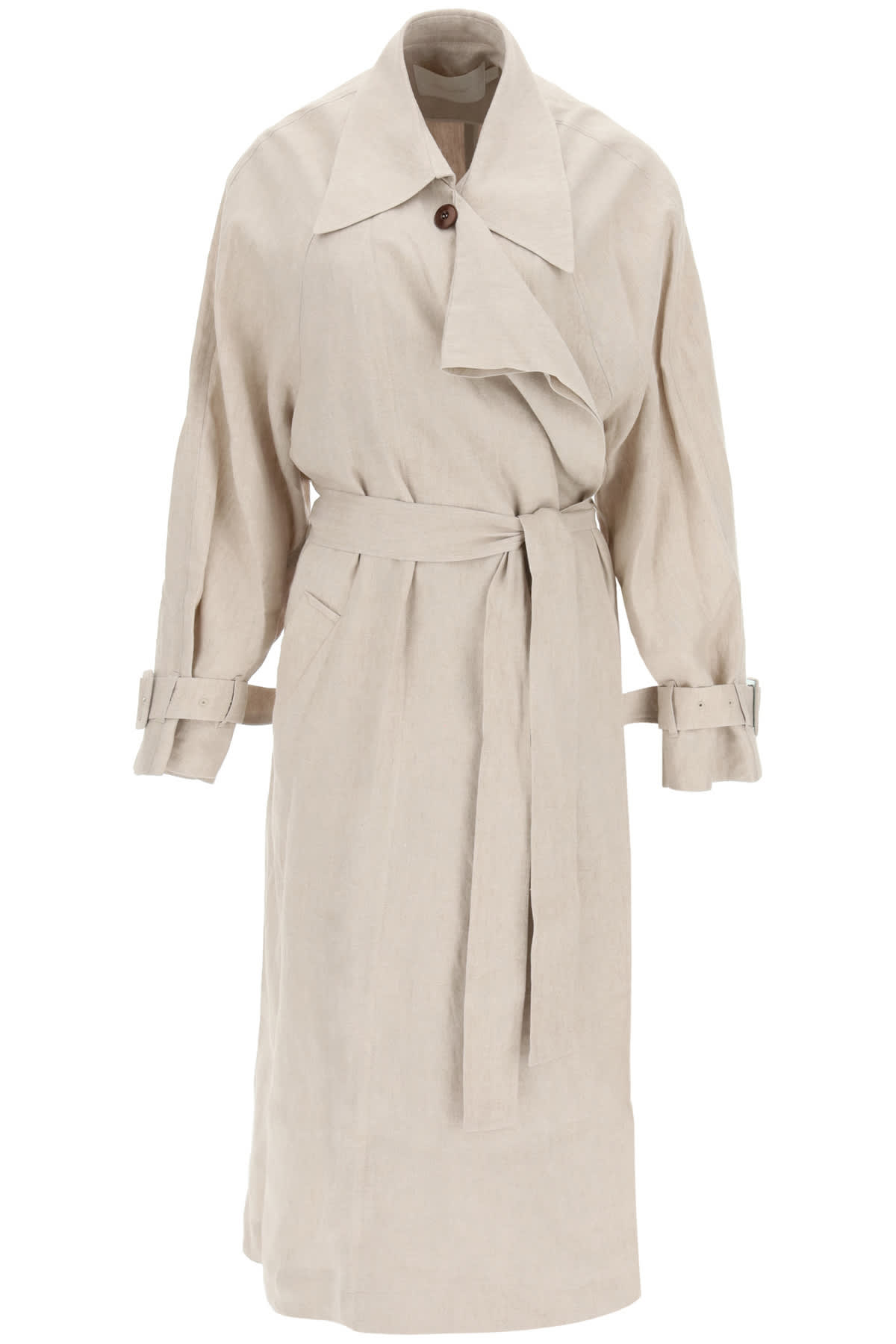 Low Classic Linens LINEN TRENCH