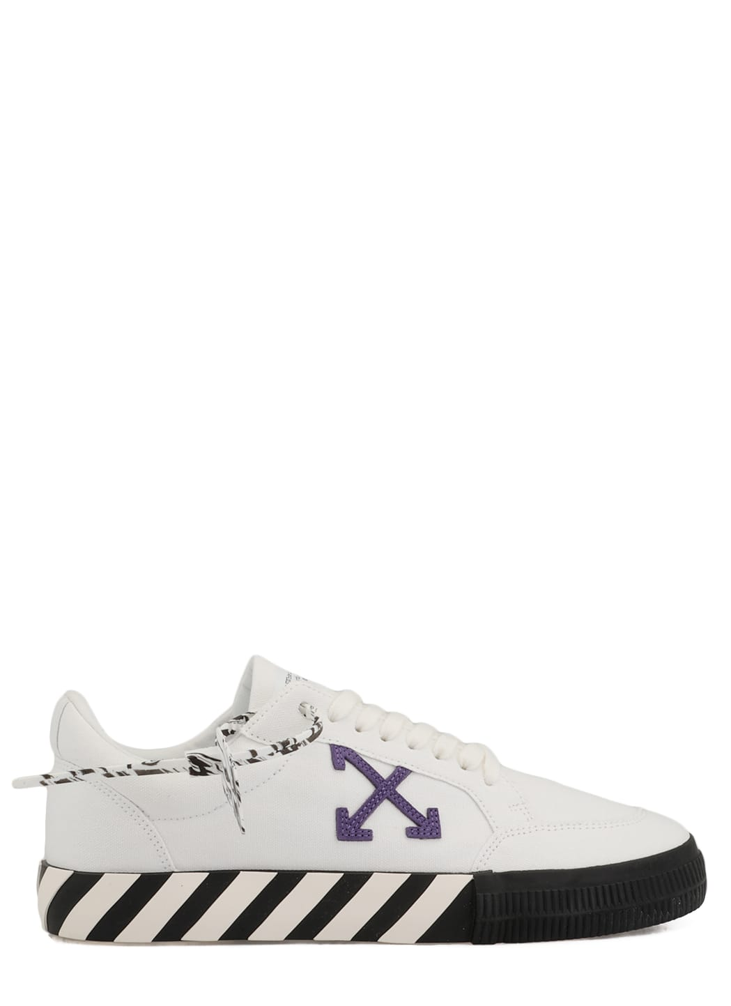 OFF-WHITE LOW TOP VULCANIZED SNEAKERS