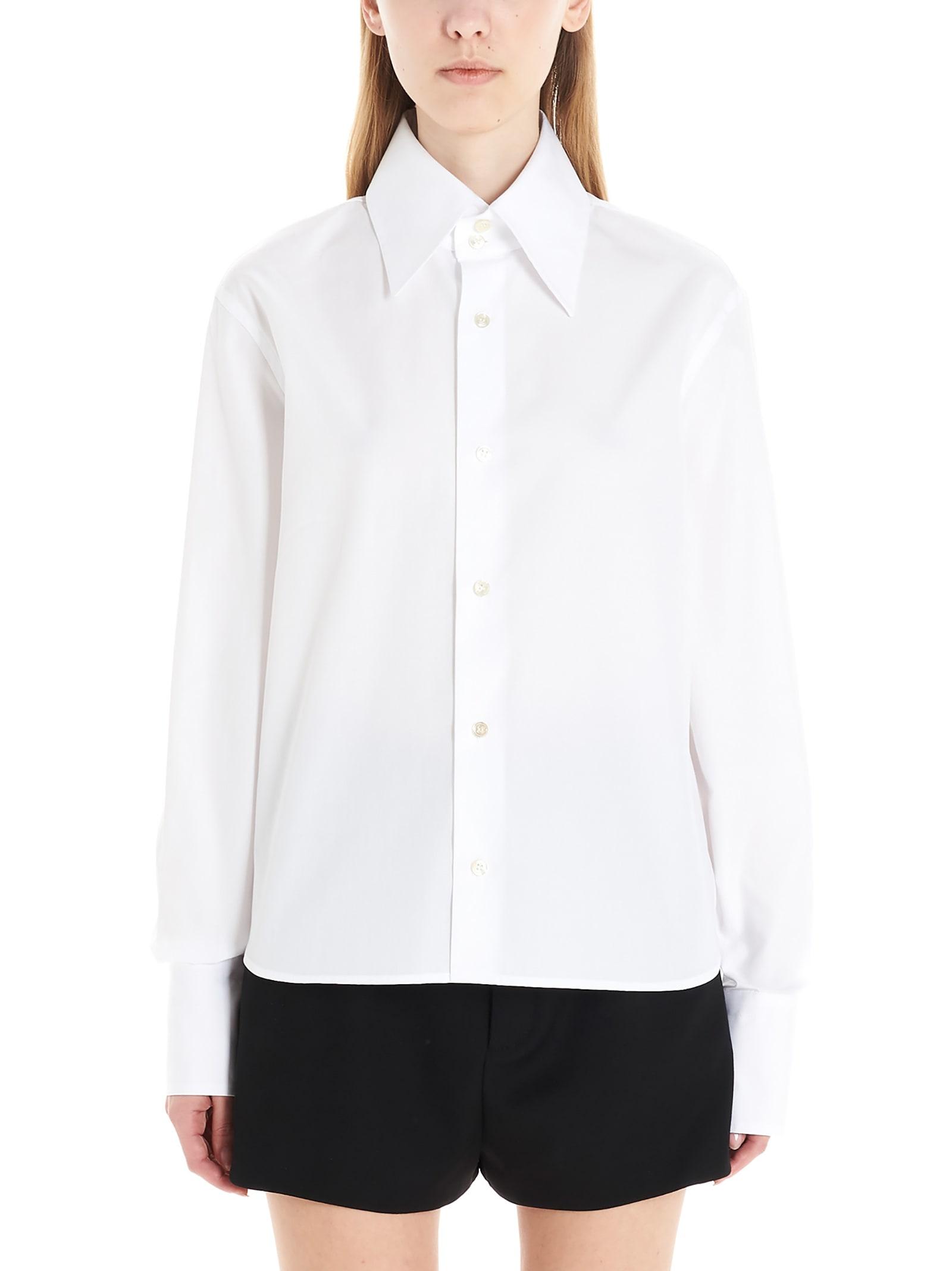 Saint Laurent Wide Collar Shirt