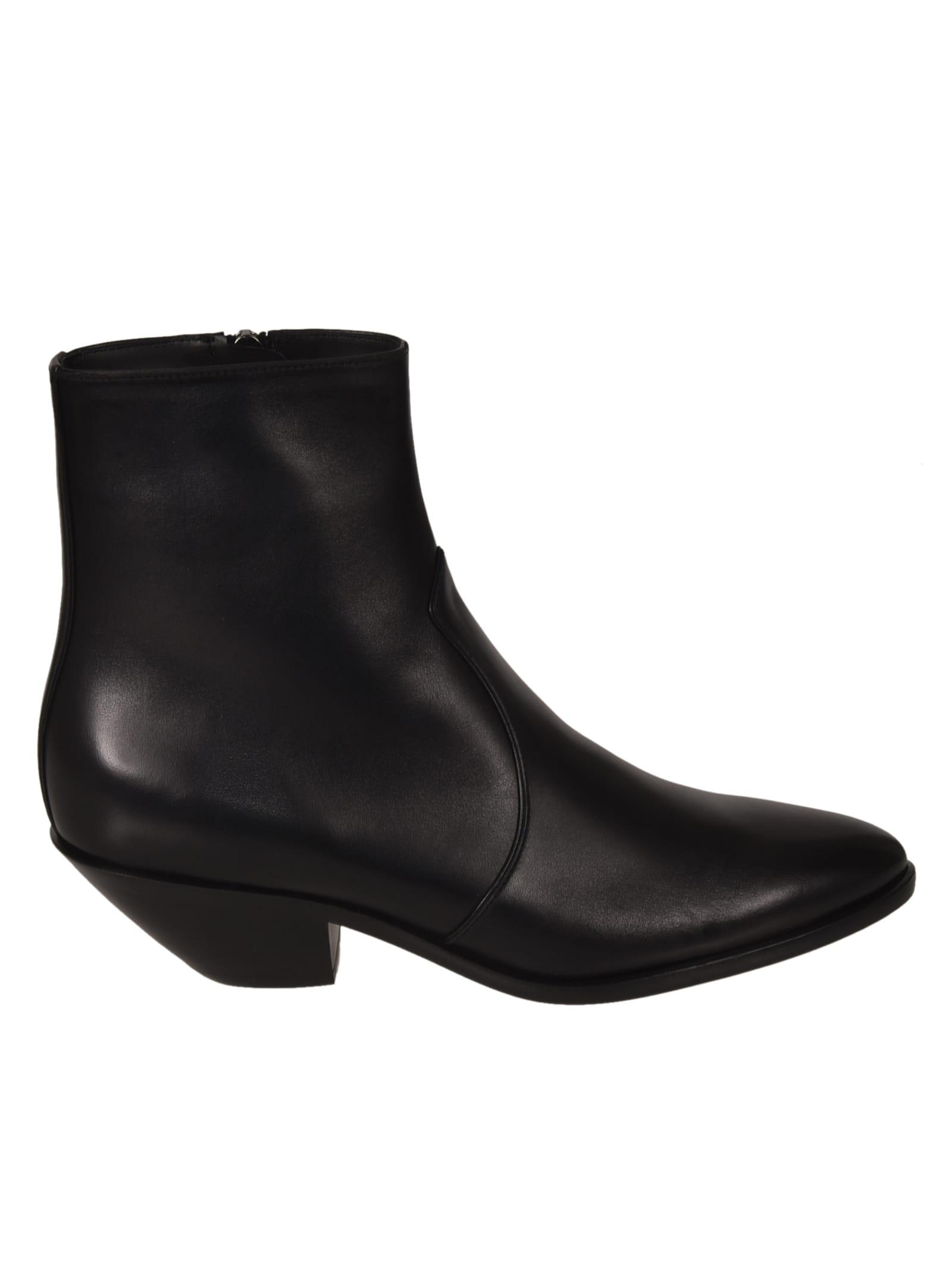 Buy Saint Laurent West 45 Zip Boots online, shop Saint Laurent shoes with free shipping