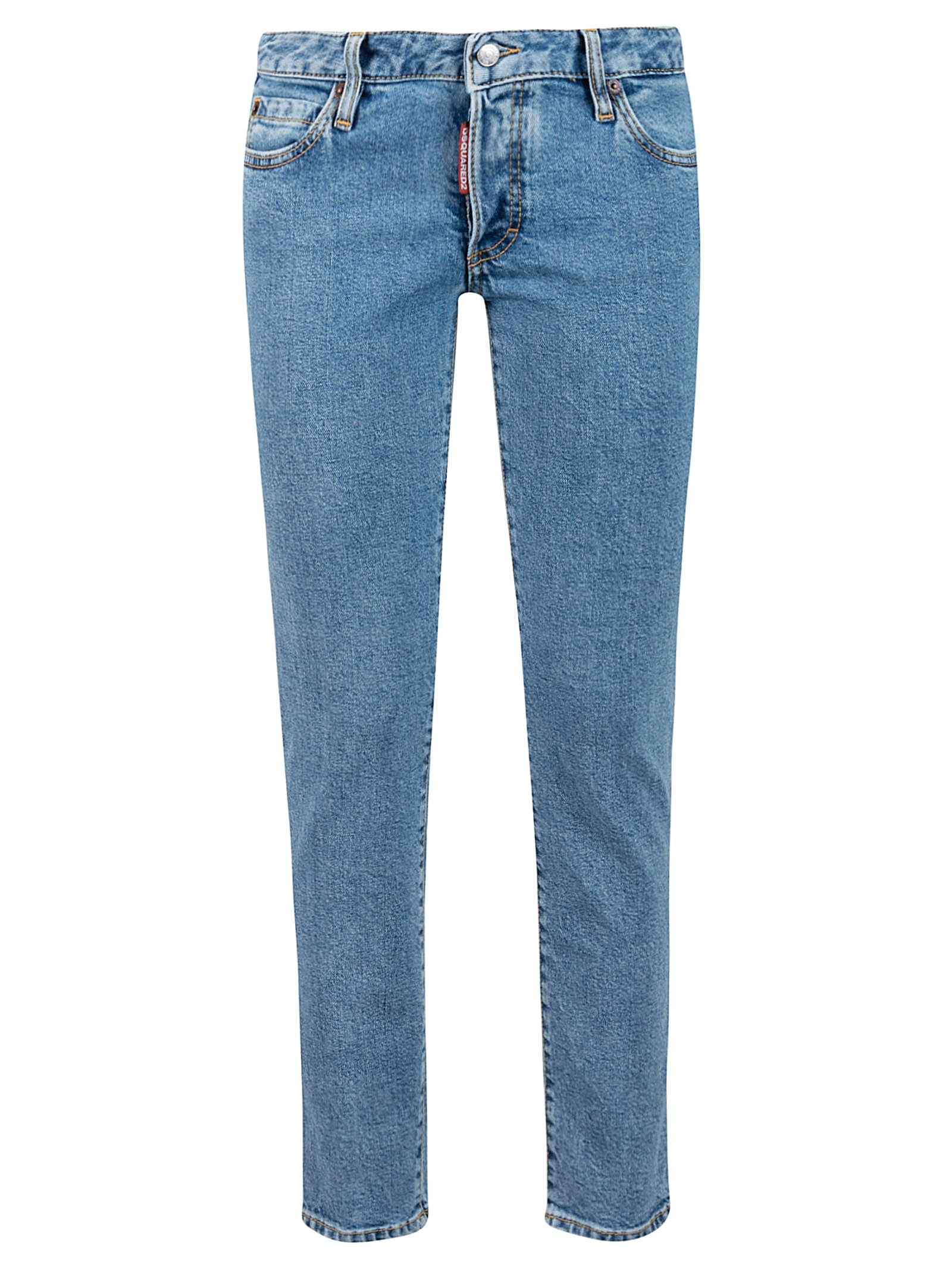 Dsquared2 Logo Jeans from Dsquared2Composition: 99% Cotton, 1% Elastane